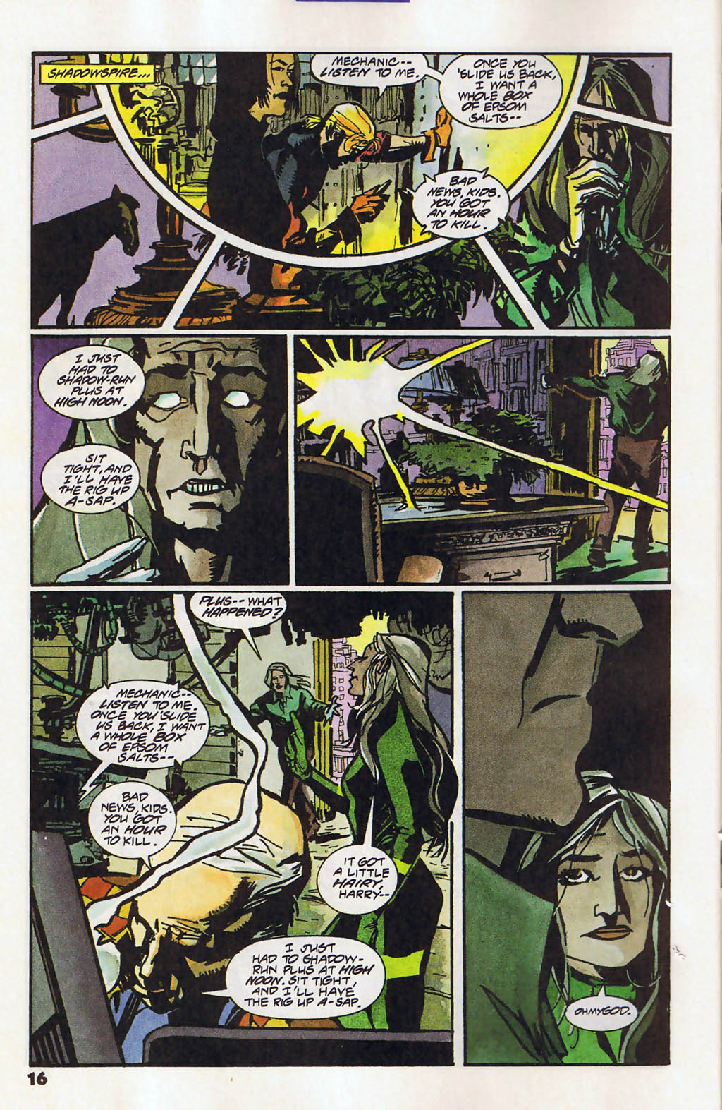 Read online Shadow Cabinet comic -  Issue #11 - 12