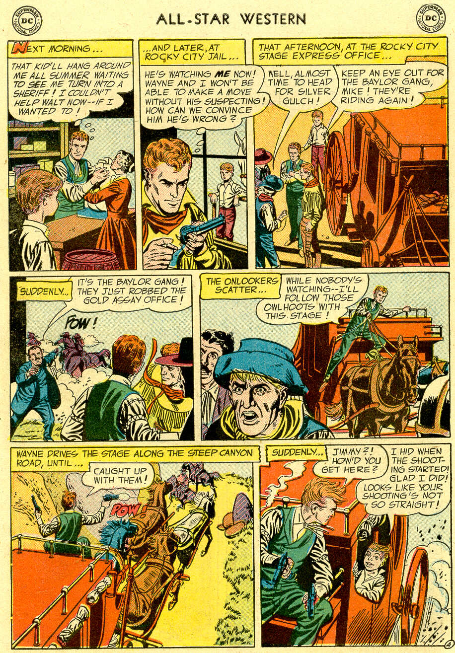 Read online All-Star Western (1951) comic -  Issue #83 - 6