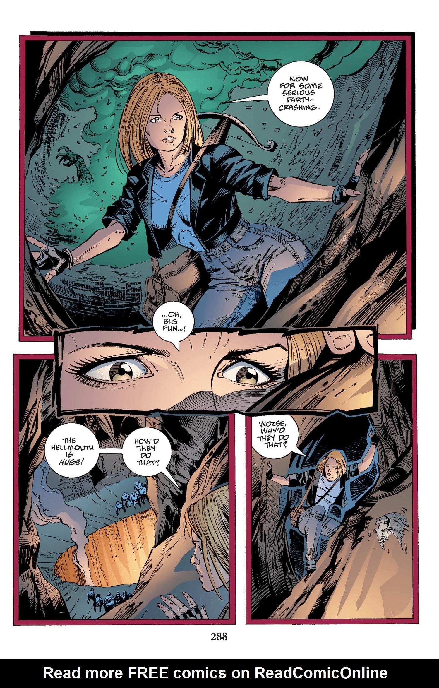 Read online Buffy the Vampire Slayer: Omnibus comic -  Issue # TPB 2 - 280