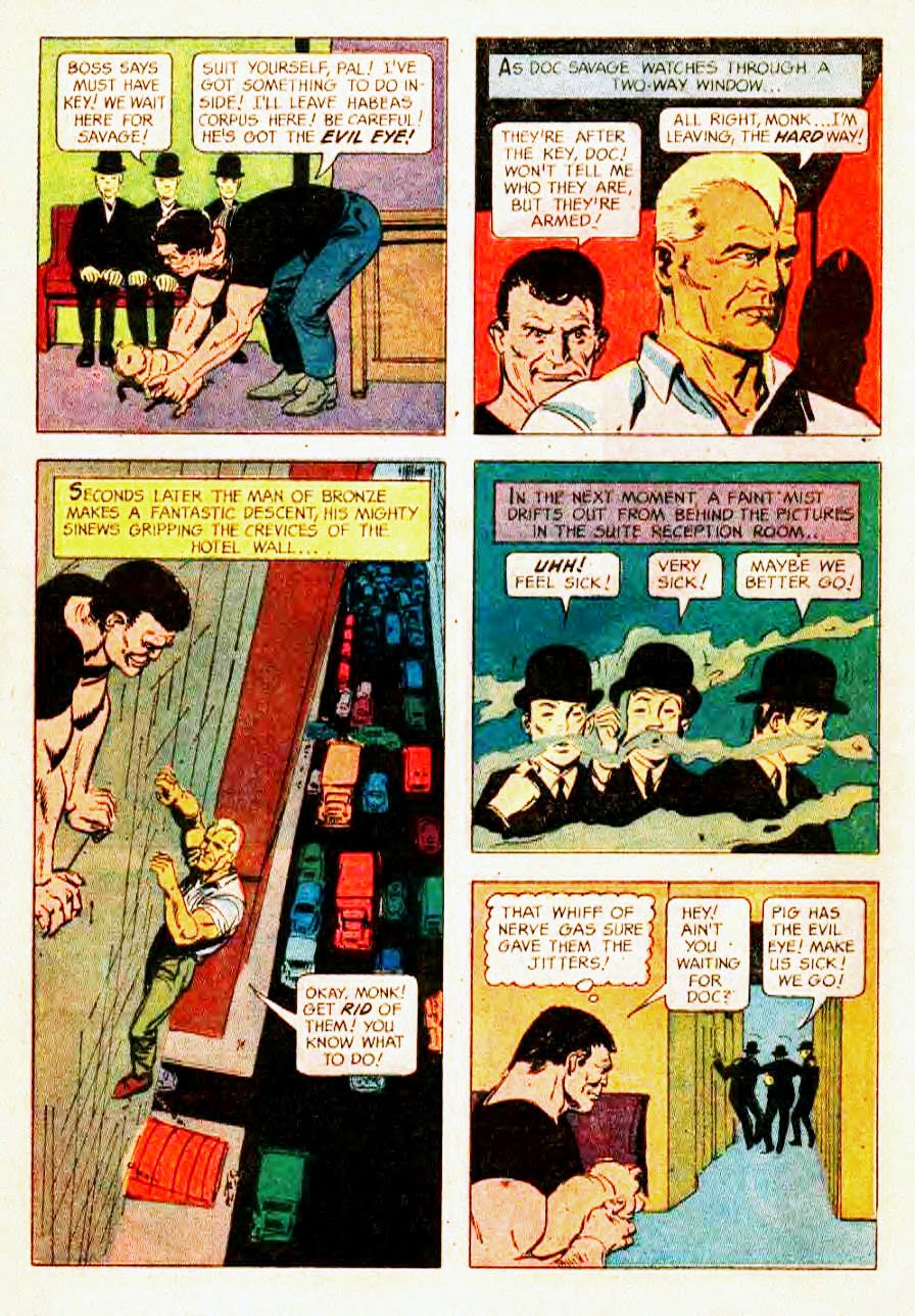 Read online Doc Savage (1966) comic -  Issue # Full - 8