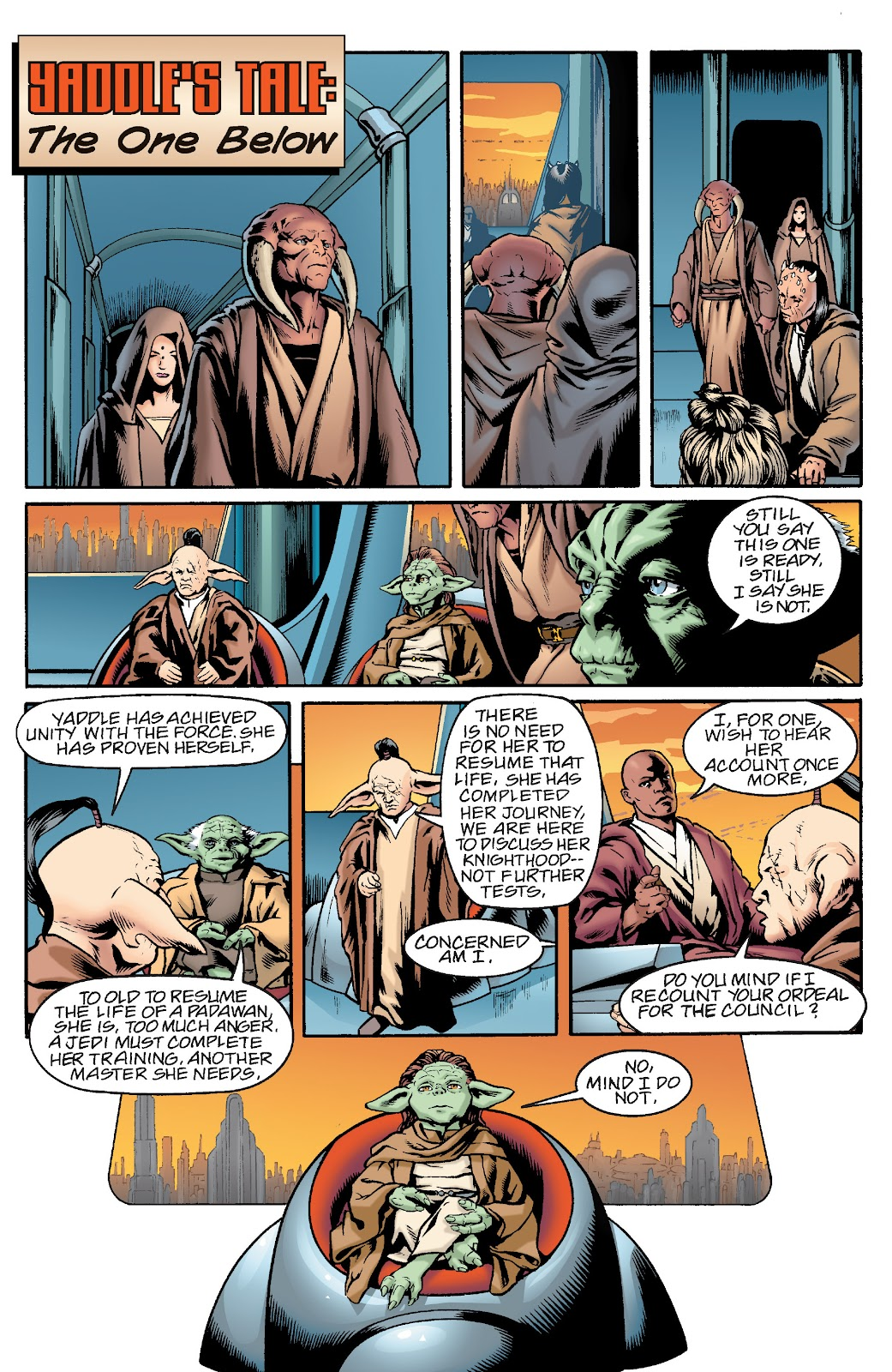 Read online Star Wars Legends: Rise of the Sith - Epic Collection comic -  Issue # TPB 1 (Part 1) - 47
