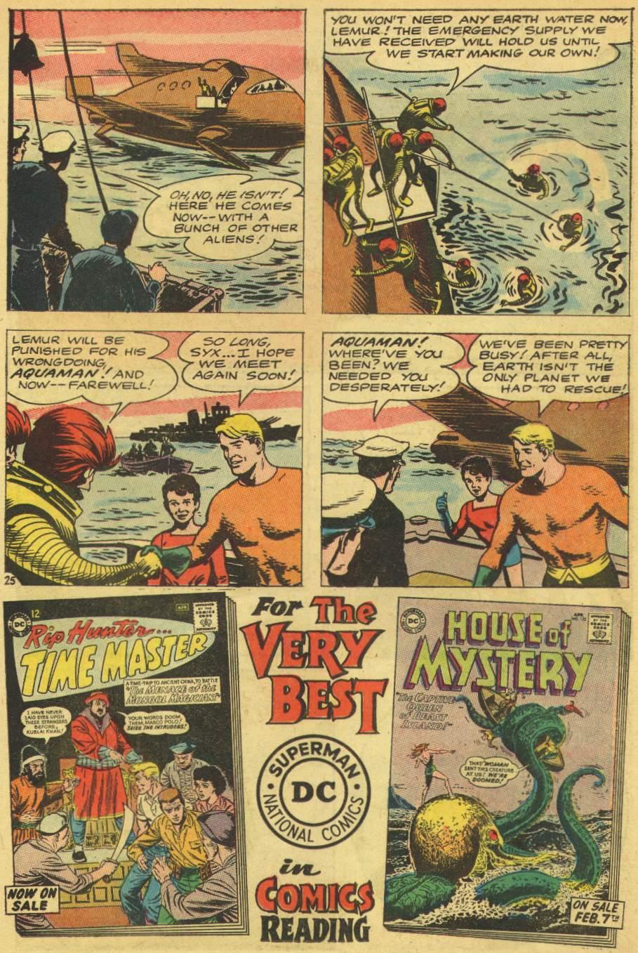 Read online Aquaman (1962) comic -  Issue #8 - 31