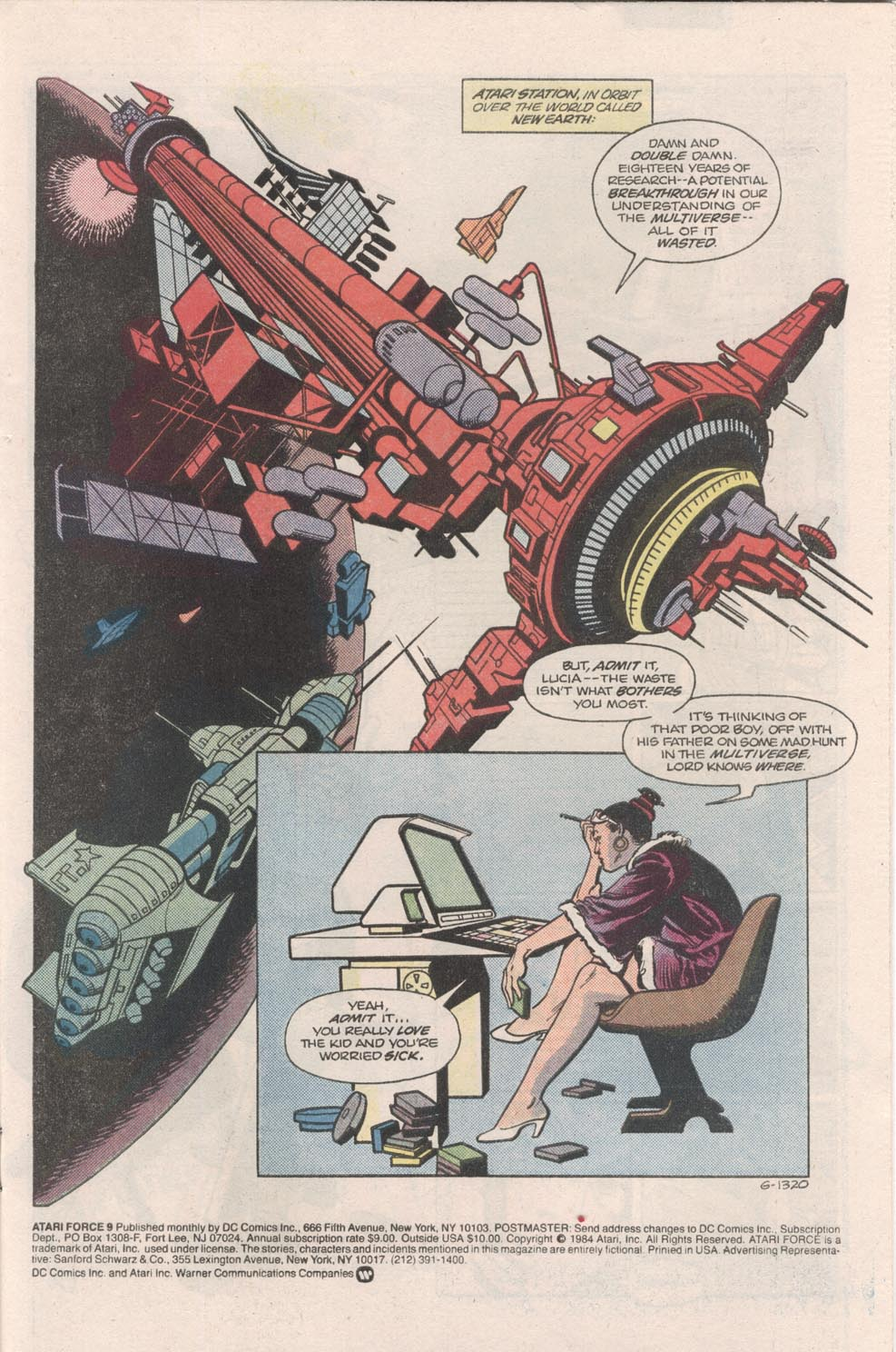 Read online Atari Force (1984) comic -  Issue #9 - 2