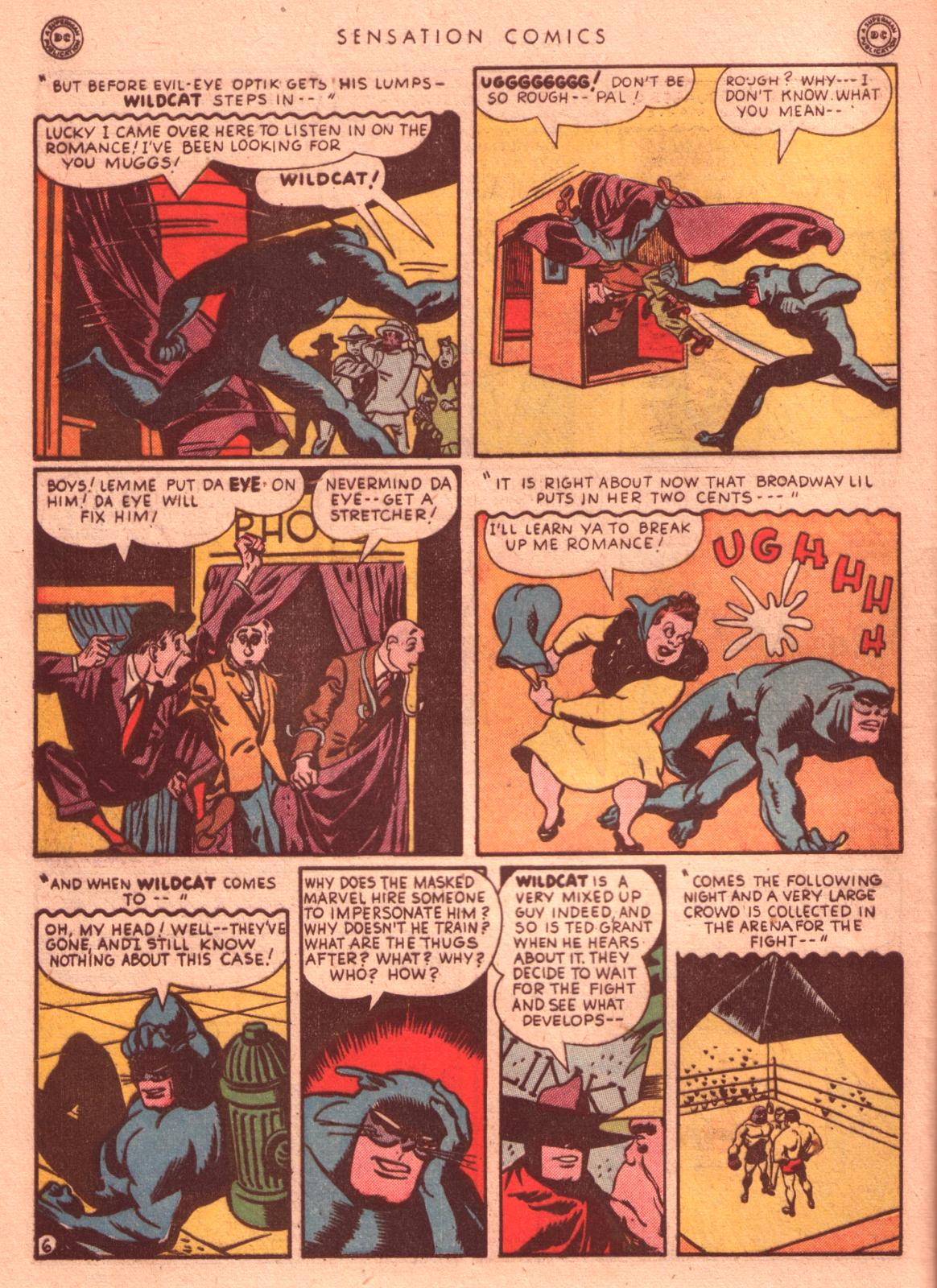 Read online Sensation (Mystery) Comics comic -  Issue #35 - 46