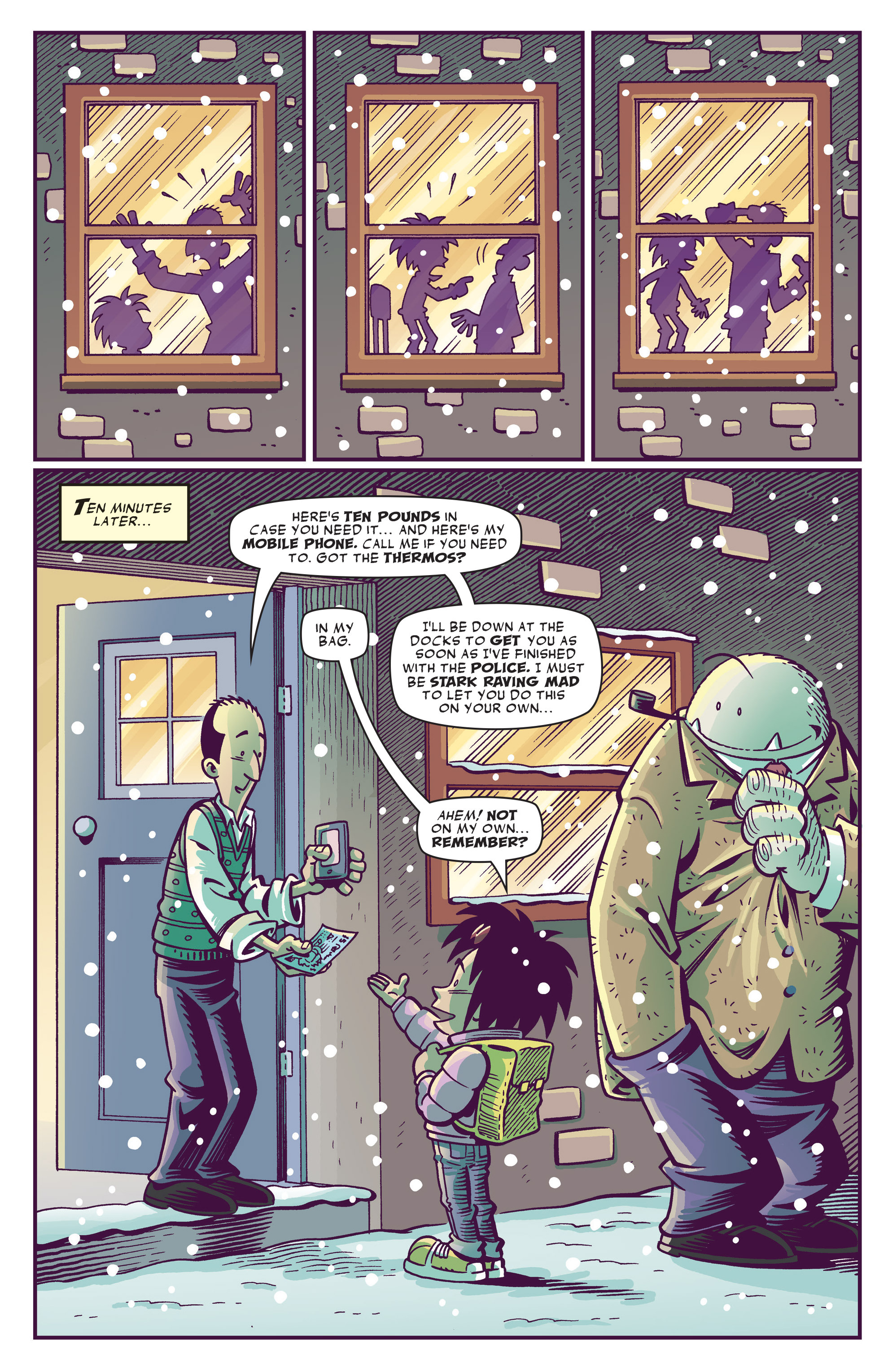 Read online Abigail And The Snowman comic -  Issue #3 - 24