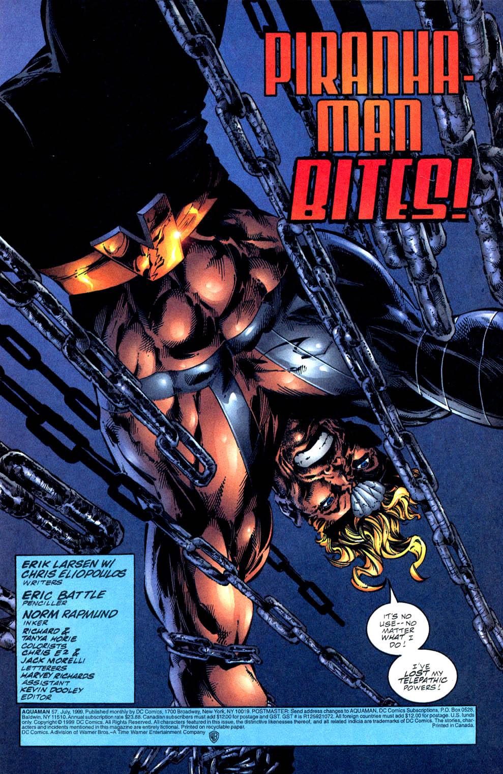 Read online Aquaman (1994) comic -  Issue #57 - 2