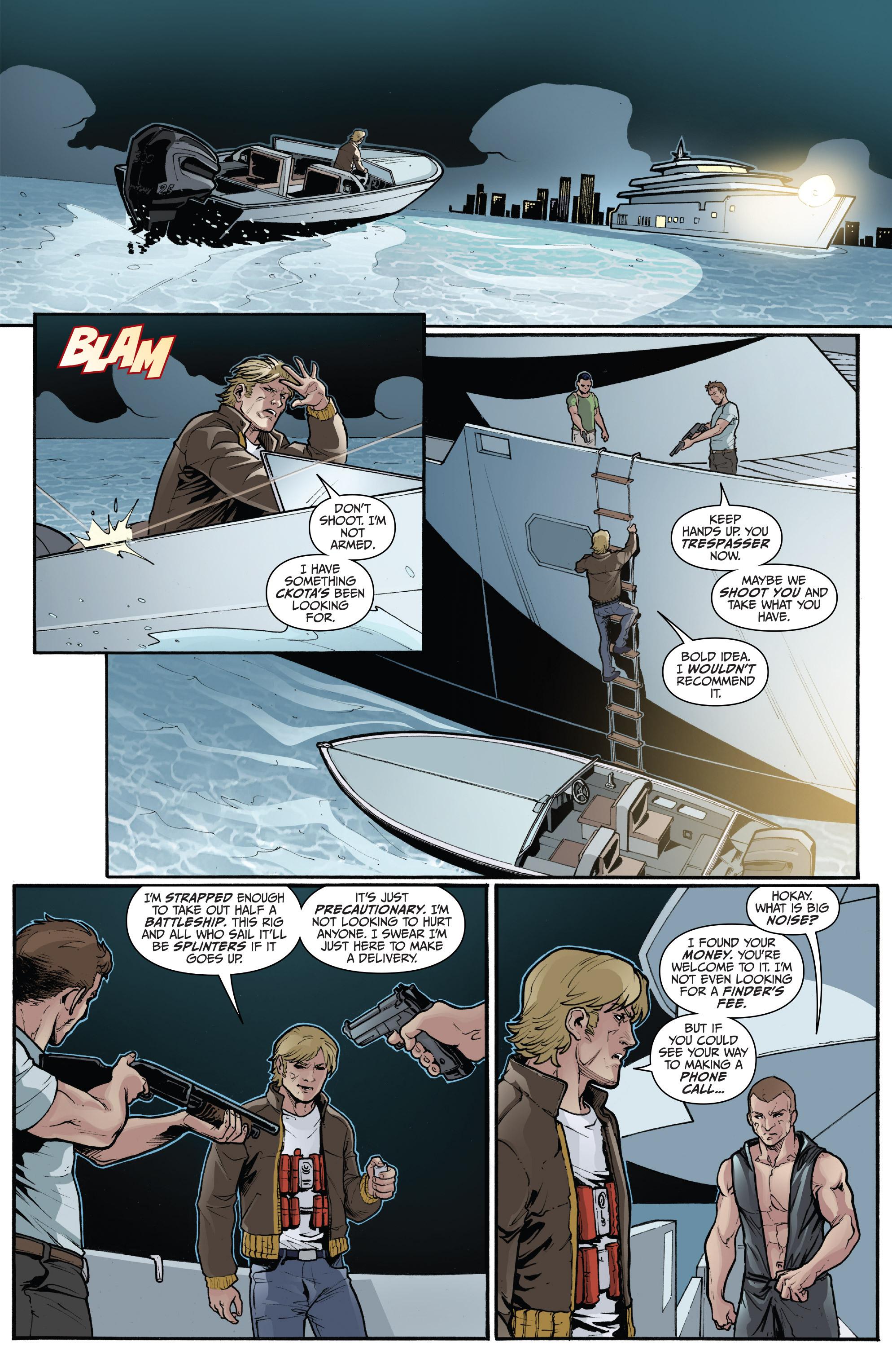 Read online 3 Guns comic -  Issue #5 - 17