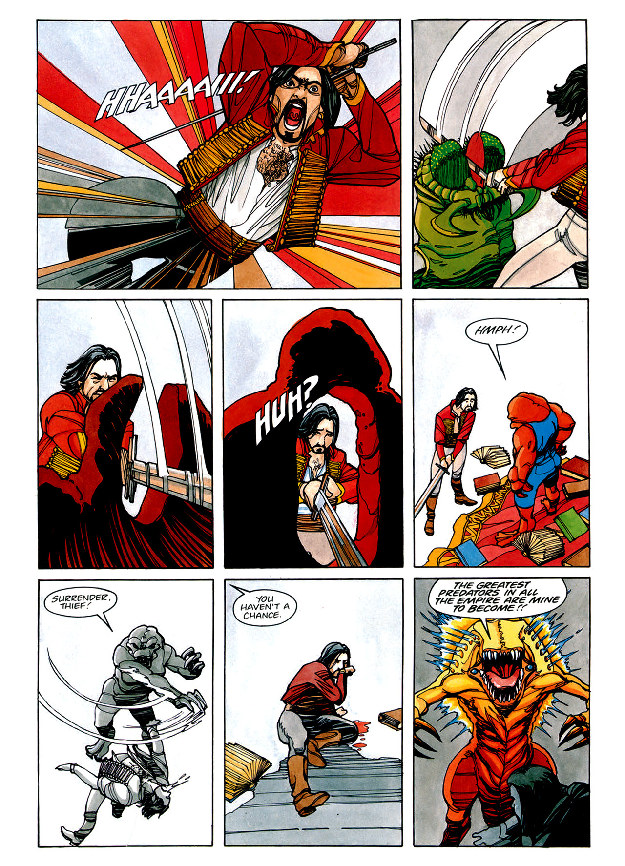 Read online Nikolai Dante comic -  Issue # TPB 1 - 61