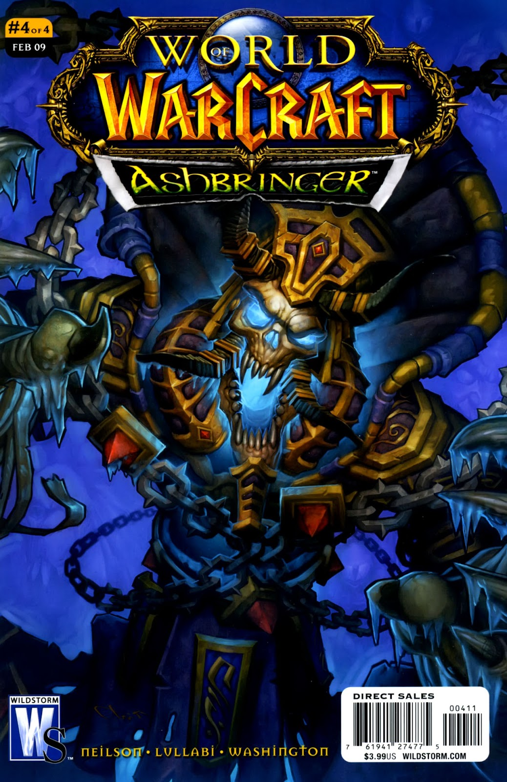 World of Warcraft: Ashbringer issue 4 - Page 1