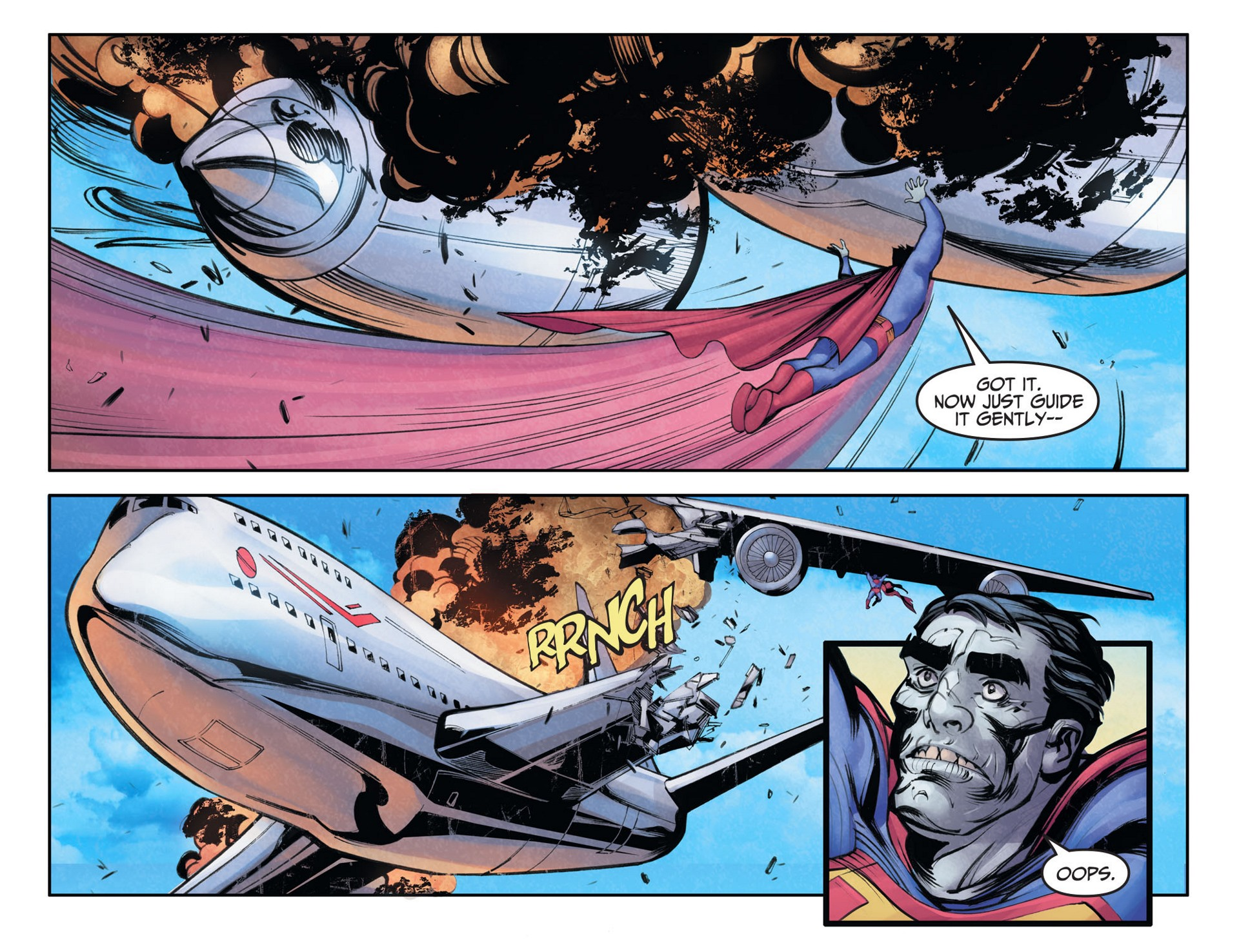 Read online Adventures of Superman [I] comic -  Issue #27 - 4