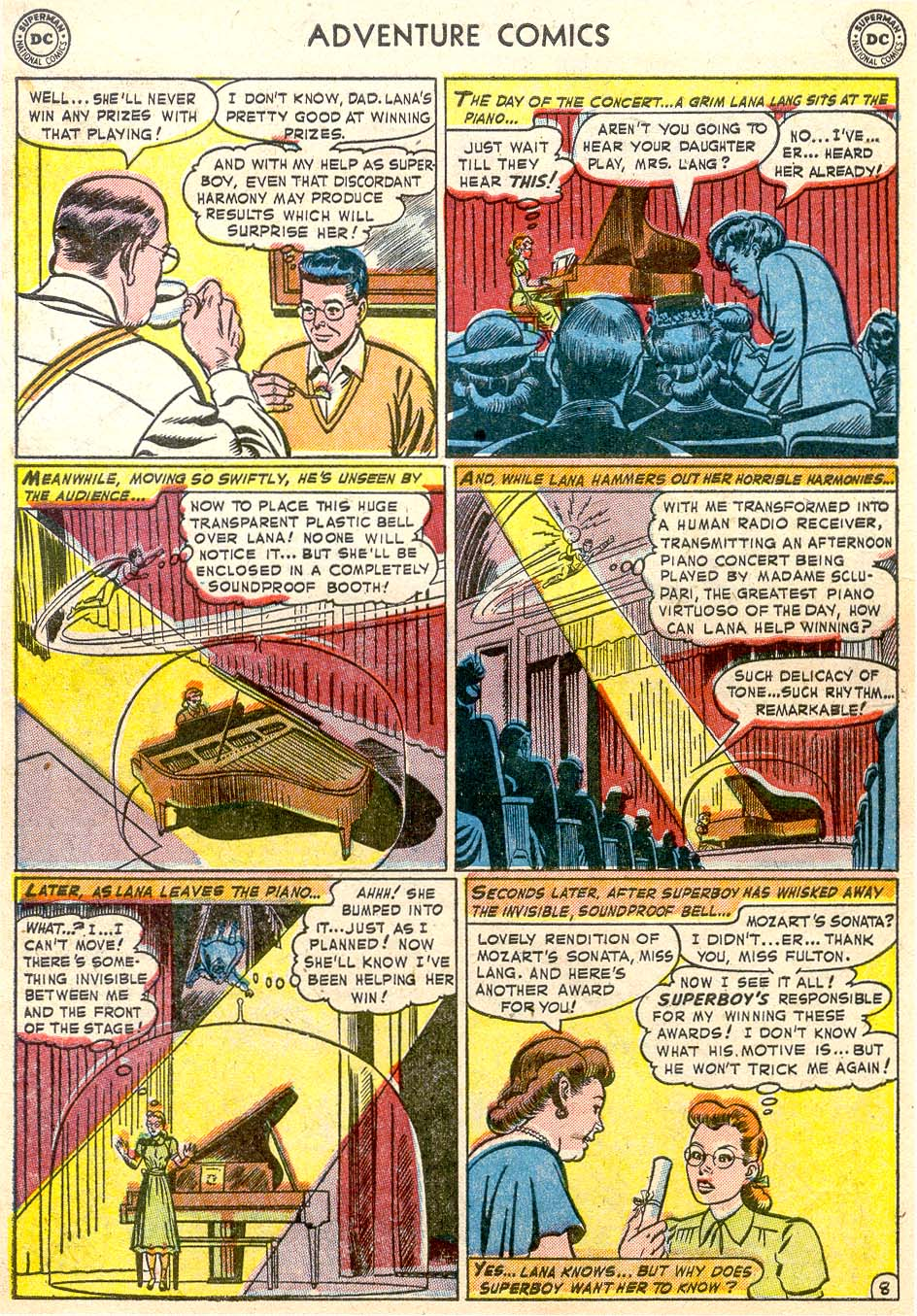 Read online Adventure Comics (1938) comic -  Issue #174 - 10