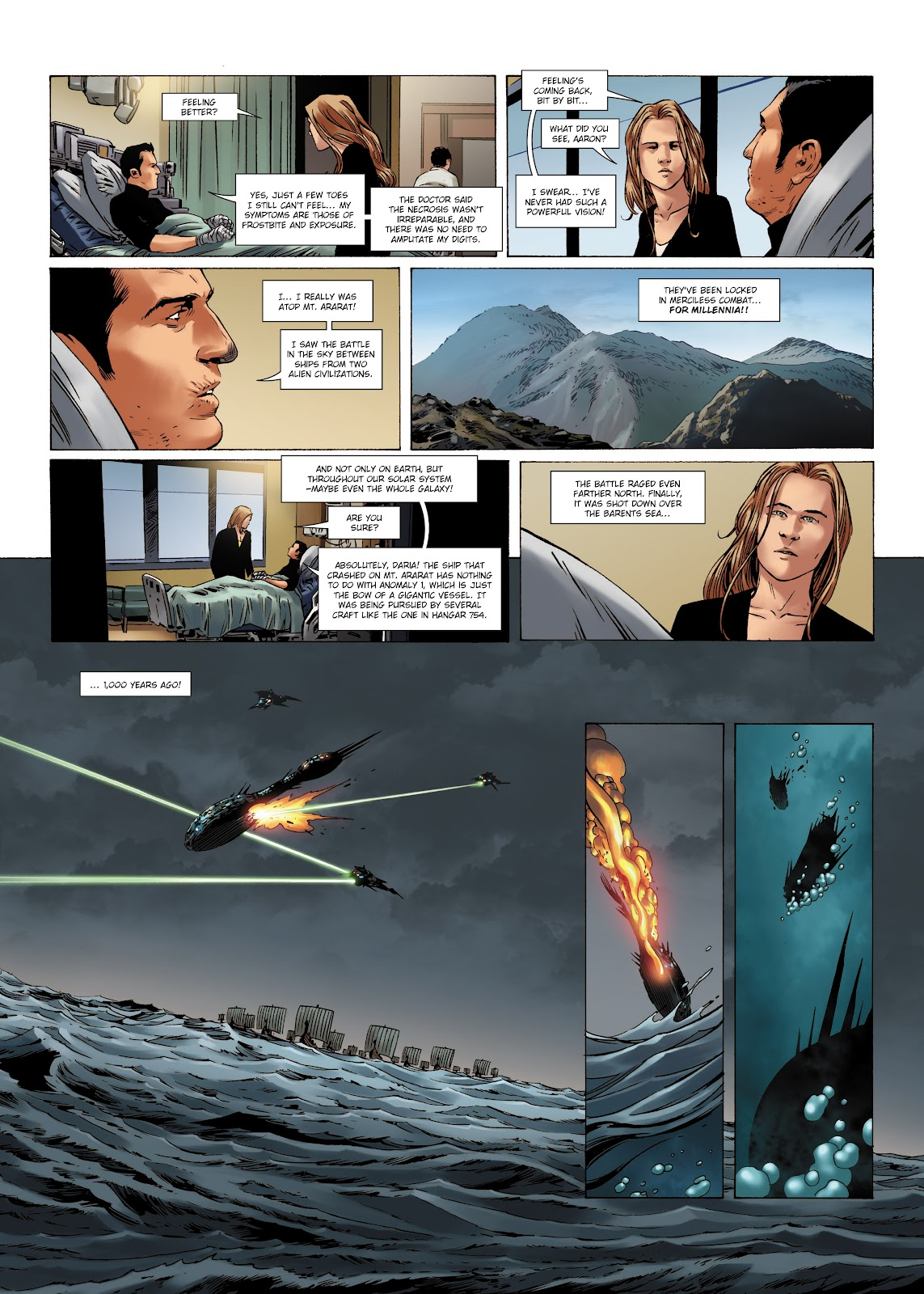Read online Olympus Mons Vol. 1: Anomaly One comic -  Issue #4 - 23