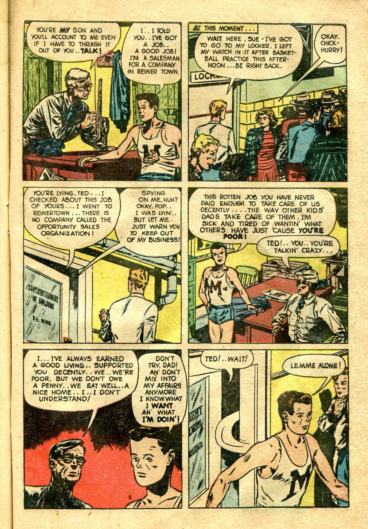 Read online Shadow Comics comic -  Issue #99 - 43