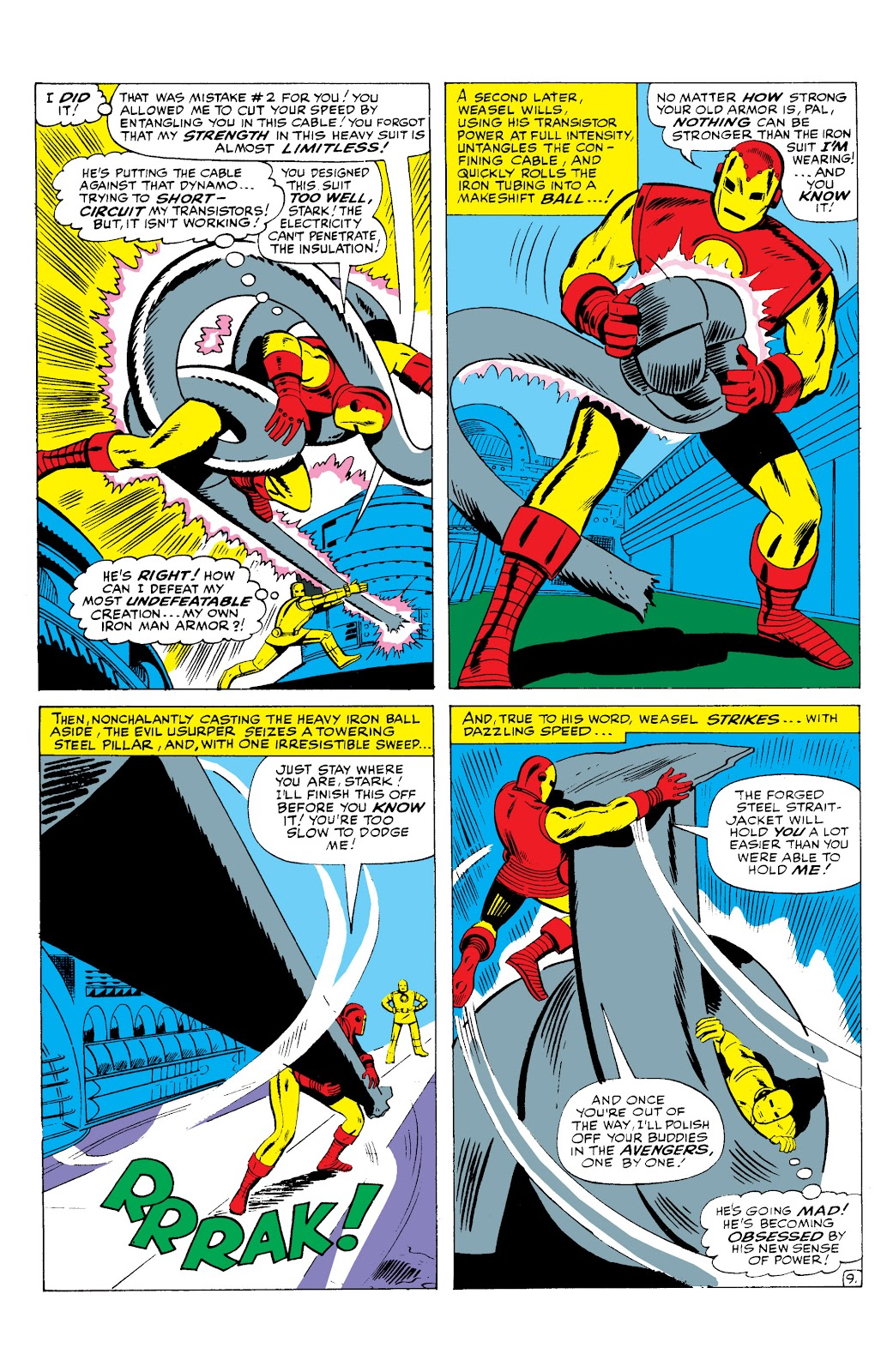Read online Marvel Masterworks: The Invincible Iron Man comic -  Issue # TPB 2 (Part 3) - 37