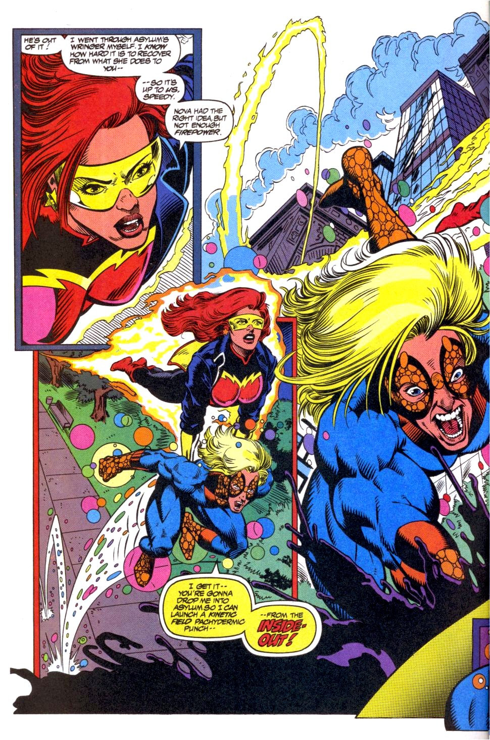 The New Warriors Issue #40 #44 - English 8