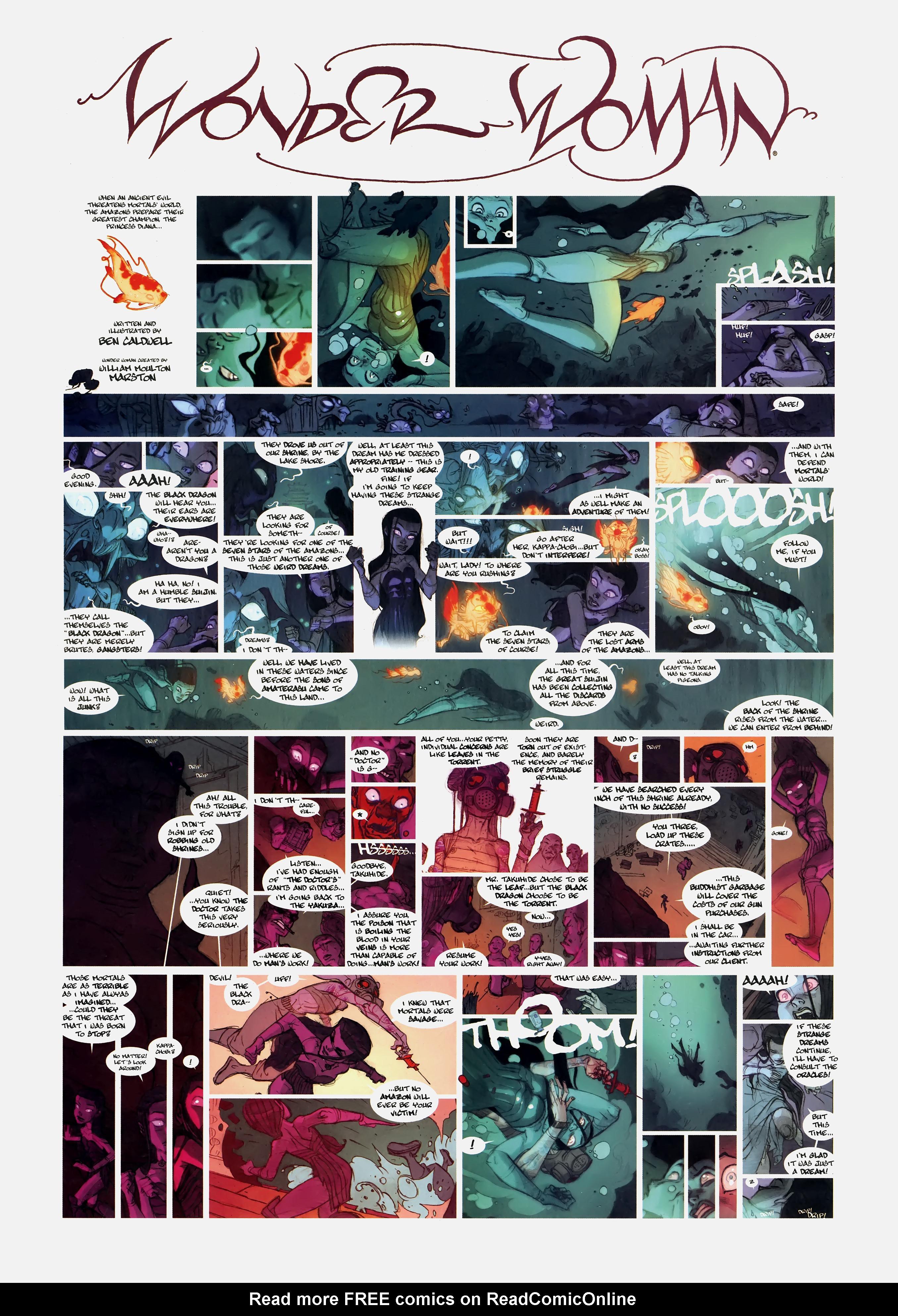 Read online Wednesday Comics comic -  Issue #2 - 12