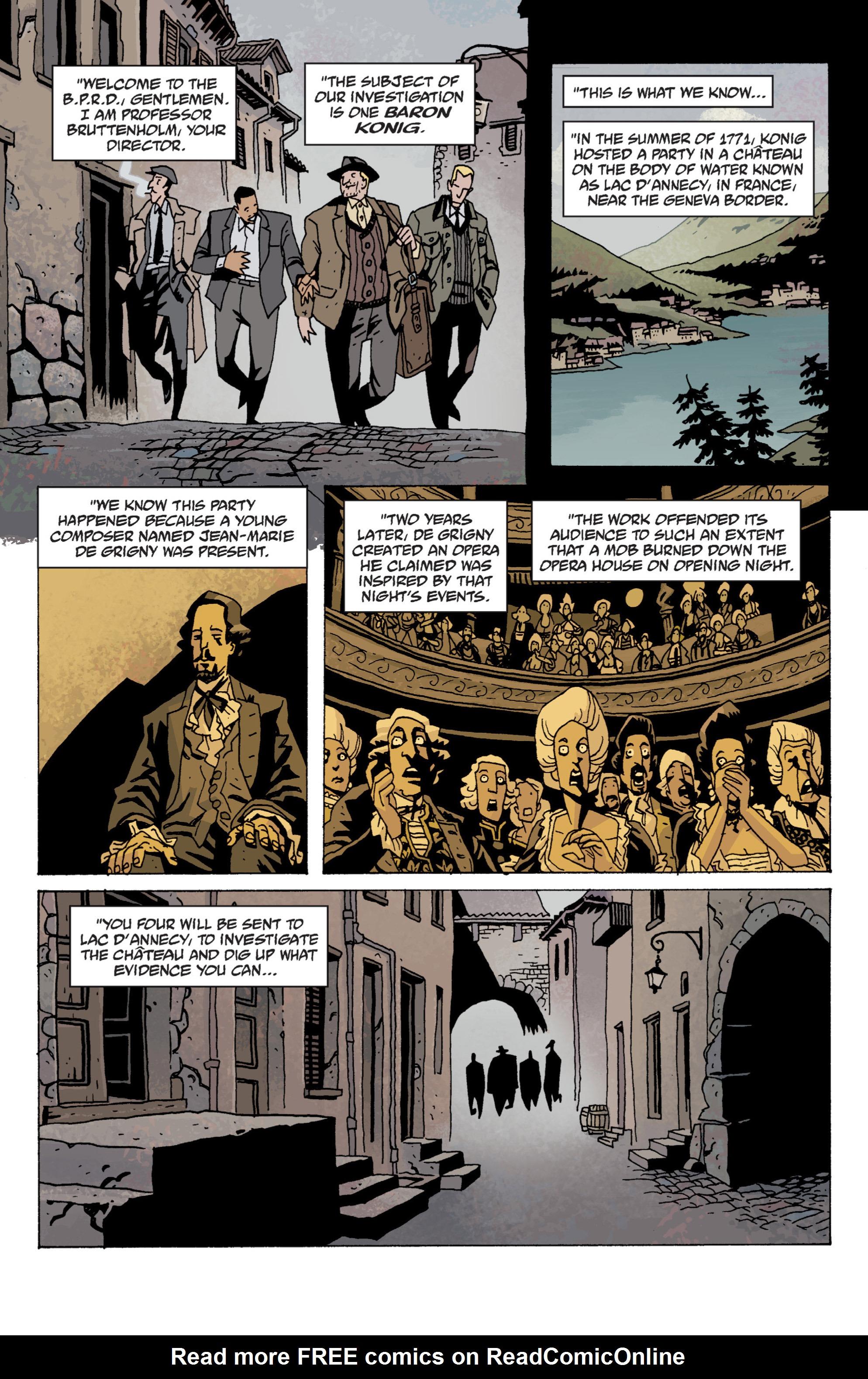 Read online B.P.R.D. (2003) comic -  Issue # TPB 13 - 18
