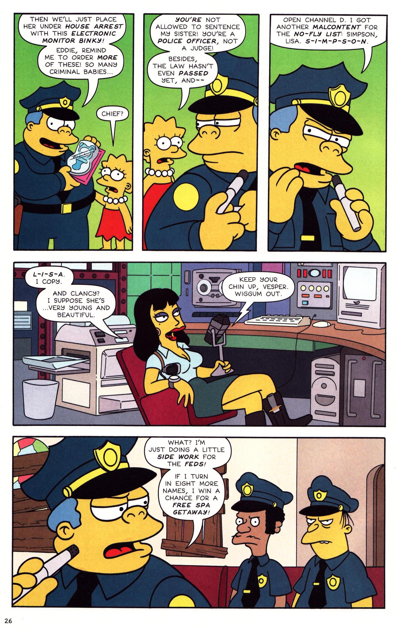Read online Simpsons Comics Presents Bart Simpson comic -  Issue #39 - 22