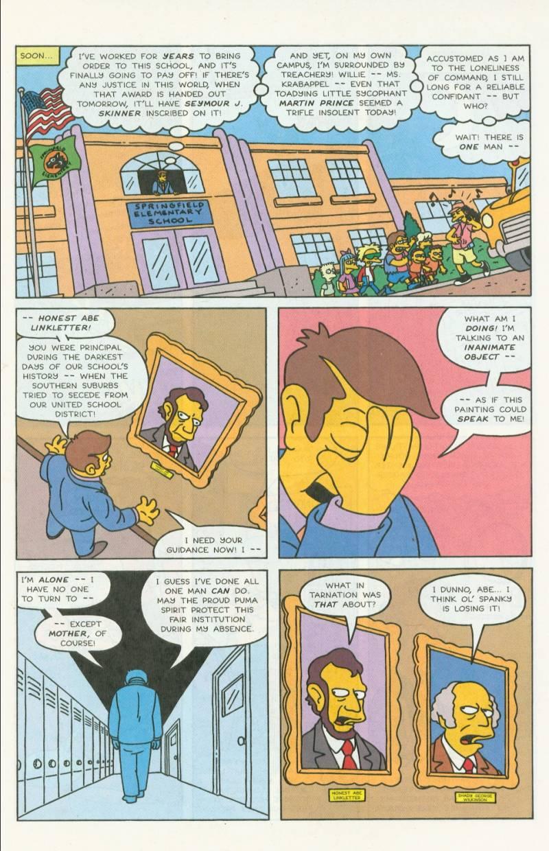 Read online Simpsons Comics comic -  Issue #3 - 4