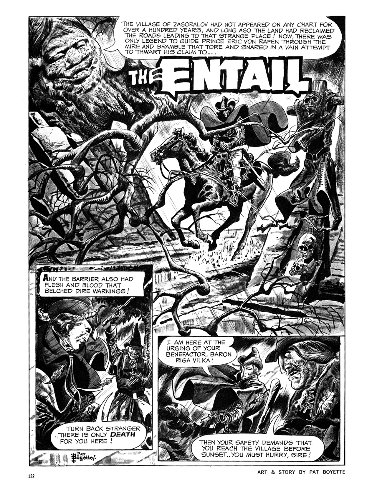 Read online Eerie Archives comic -  Issue # TPB 6 - 132