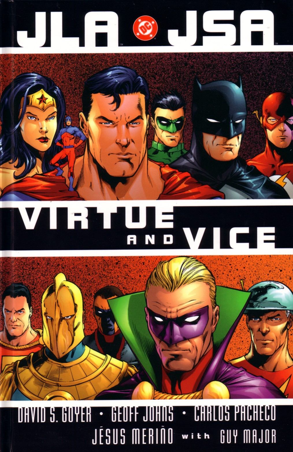 Read online JLA/JSA: Virtue and Vice comic -  Issue # TPB - 2