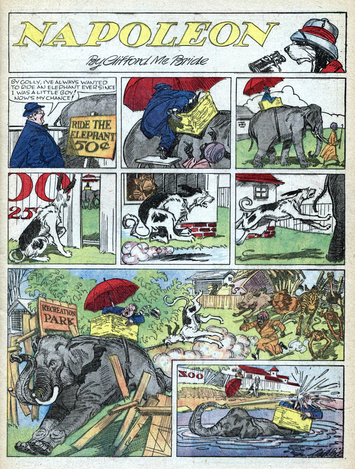 Read online Famous Funnies comic -  Issue #36 - 3