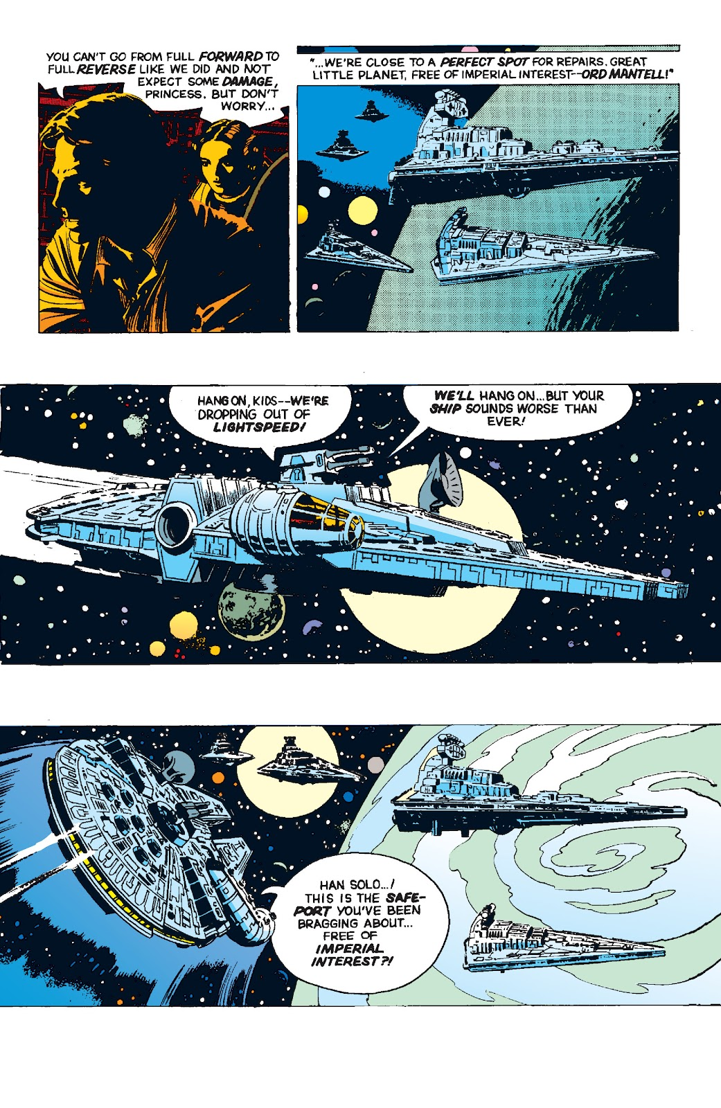 Read online Star Wars Legends: The Newspaper Strips - Epic Collection comic -  Issue # TPB (Part 4) - 93
