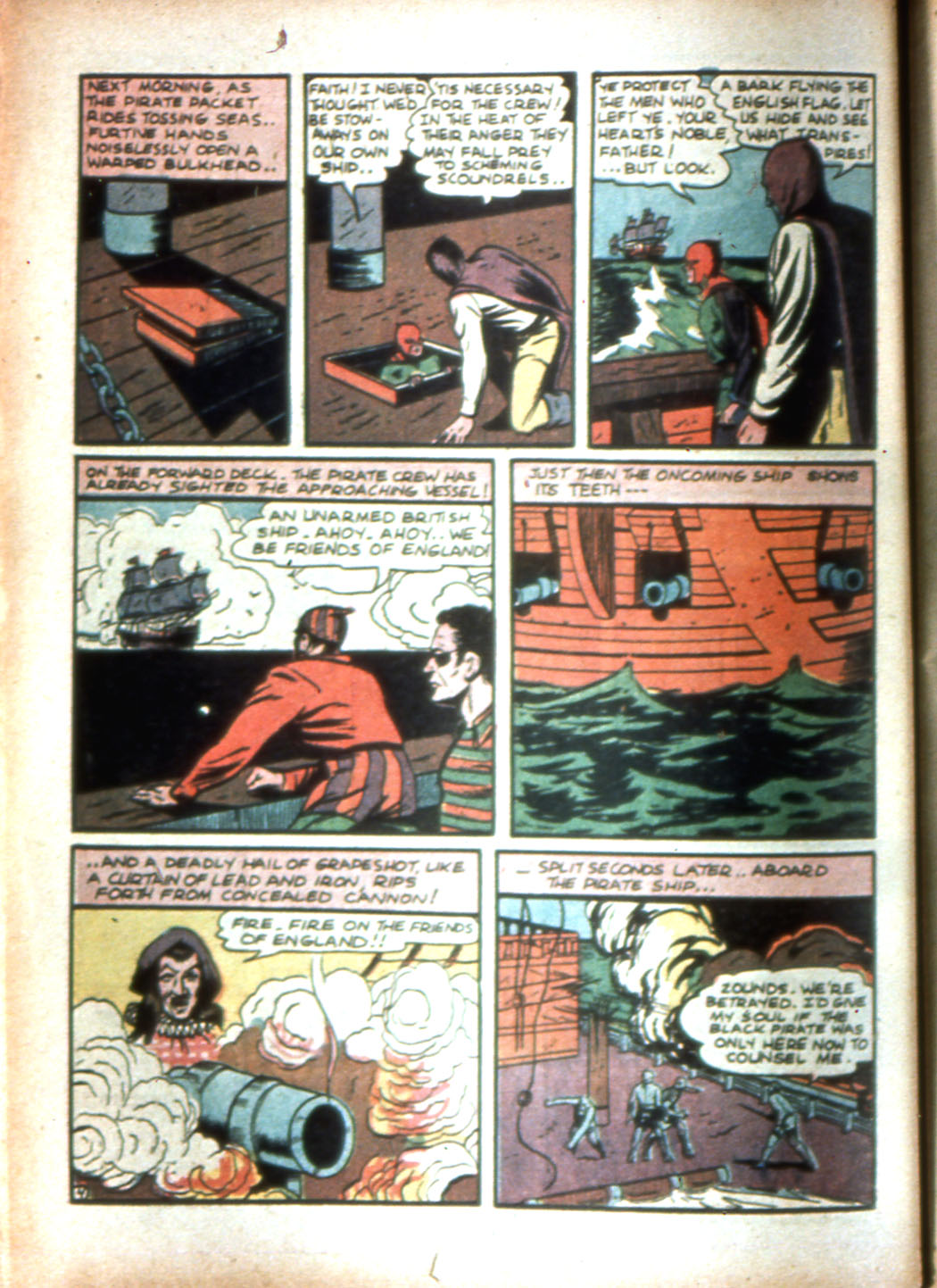 Read online Sensation (Mystery) Comics comic -  Issue #16 - 20