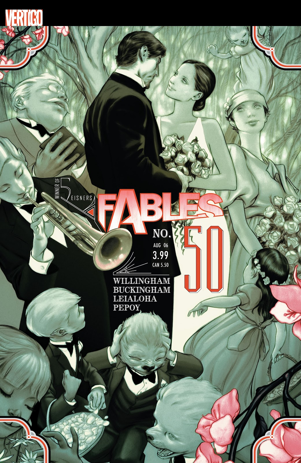 Fables issue 50 - Page 1