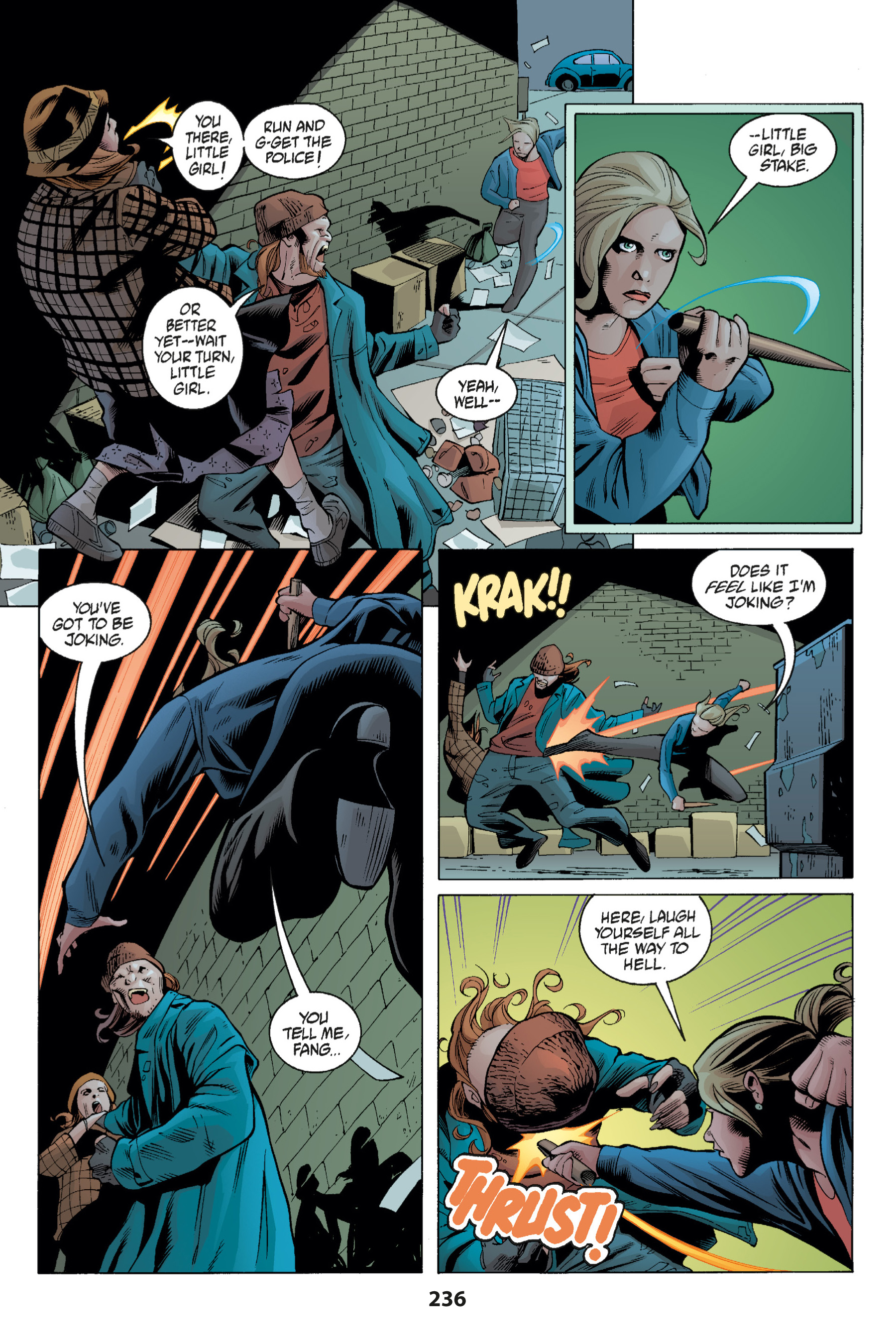 Read online Buffy the Vampire Slayer: Omnibus comic -  Issue # TPB 1 - 231