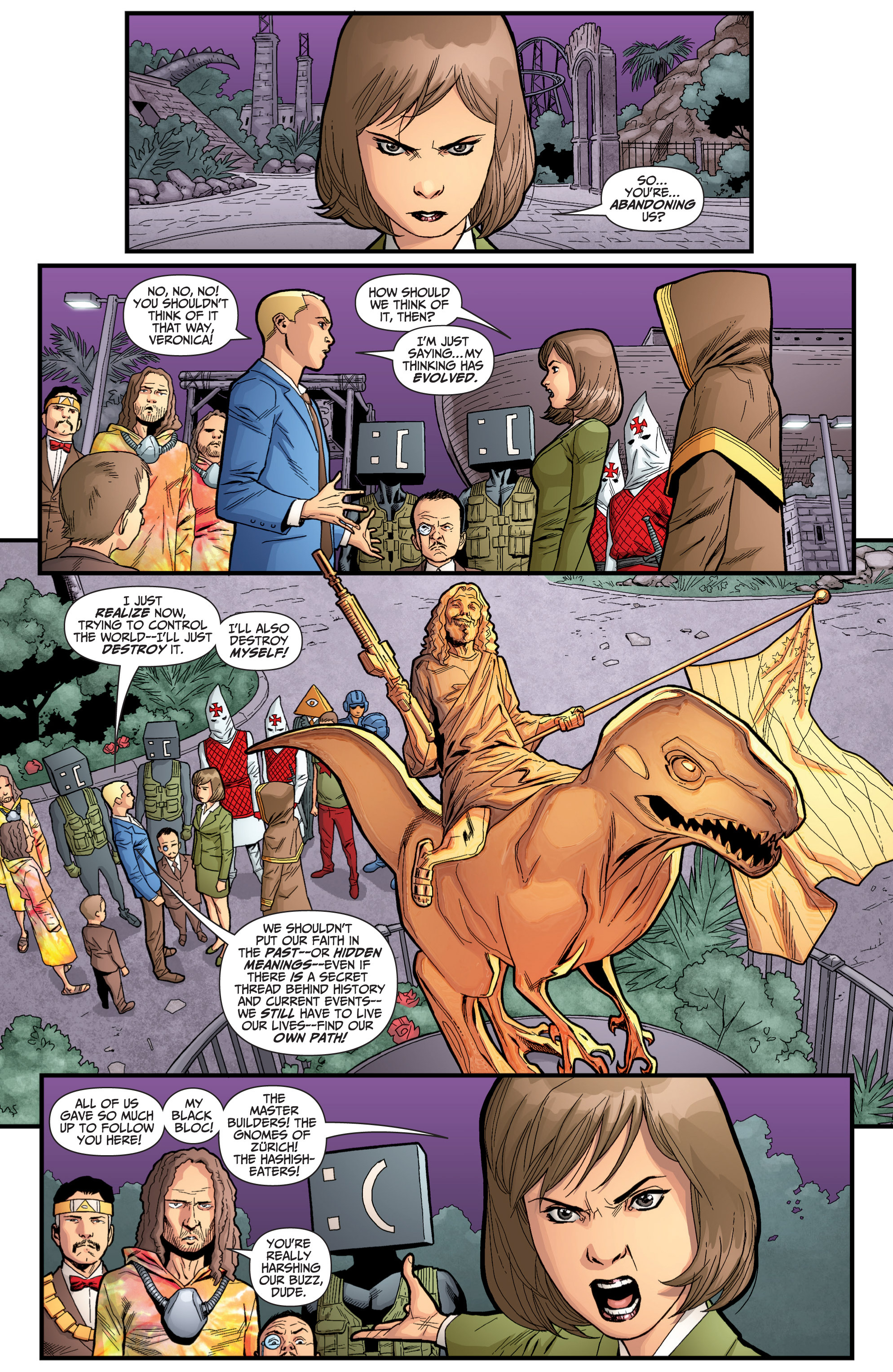 Read online Archer and Armstrong comic -  Issue #Archer and Armstrong _TPB 6 - 97