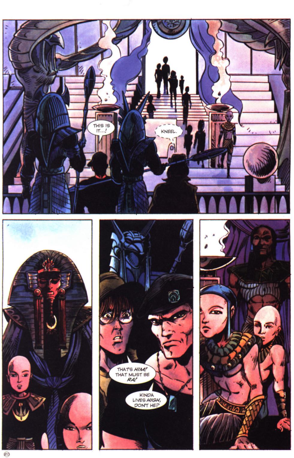 Read online Stargate comic -  Issue #2 - 22