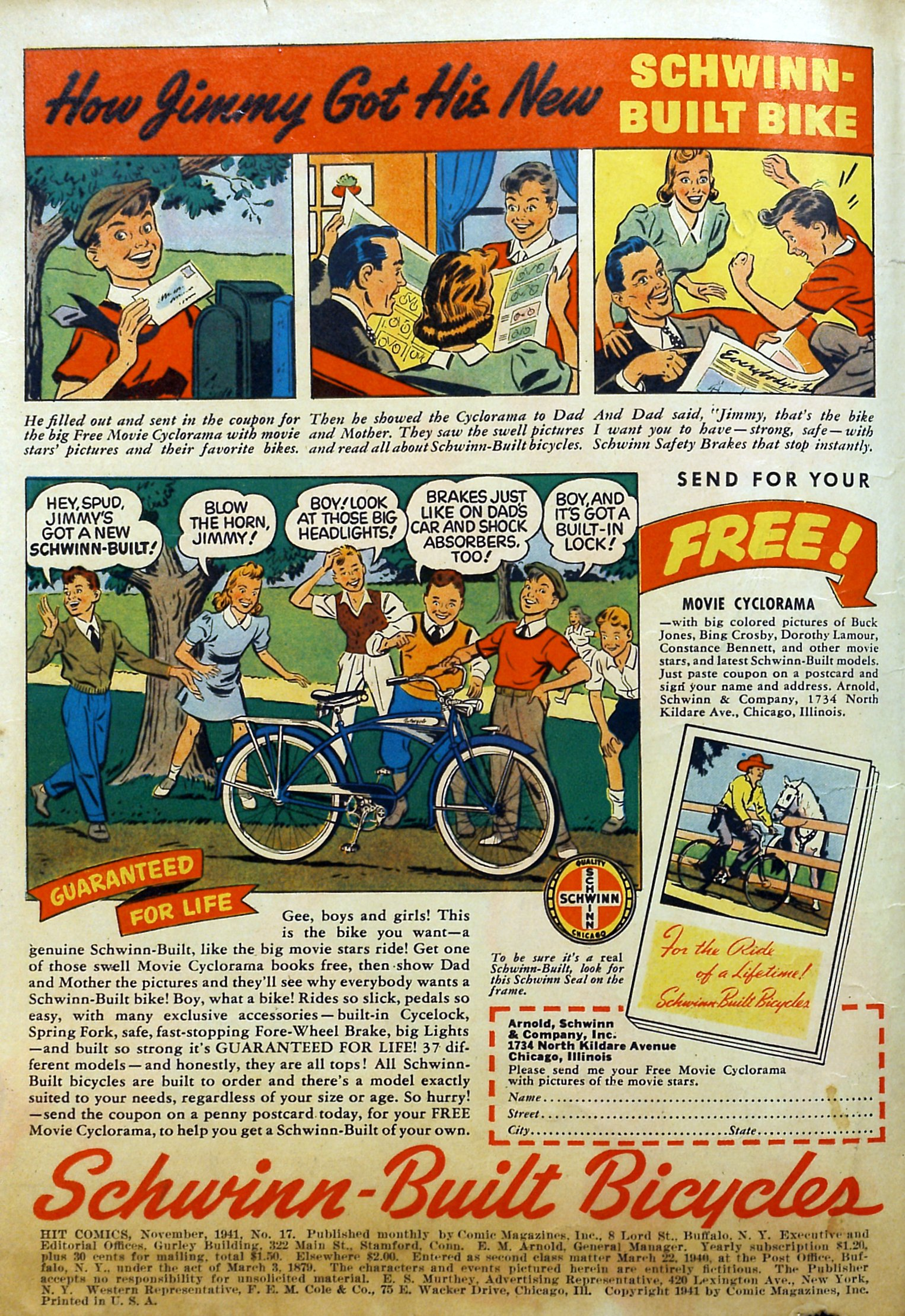 Read online Hit Comics comic -  Issue #17 - 2