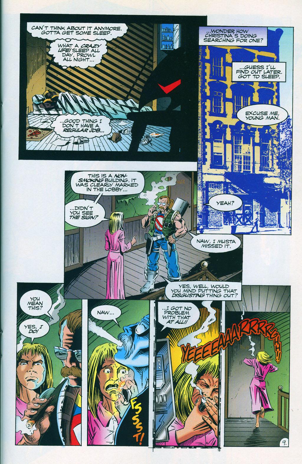 Read online ShadowHawk comic -  Issue #7 - 13
