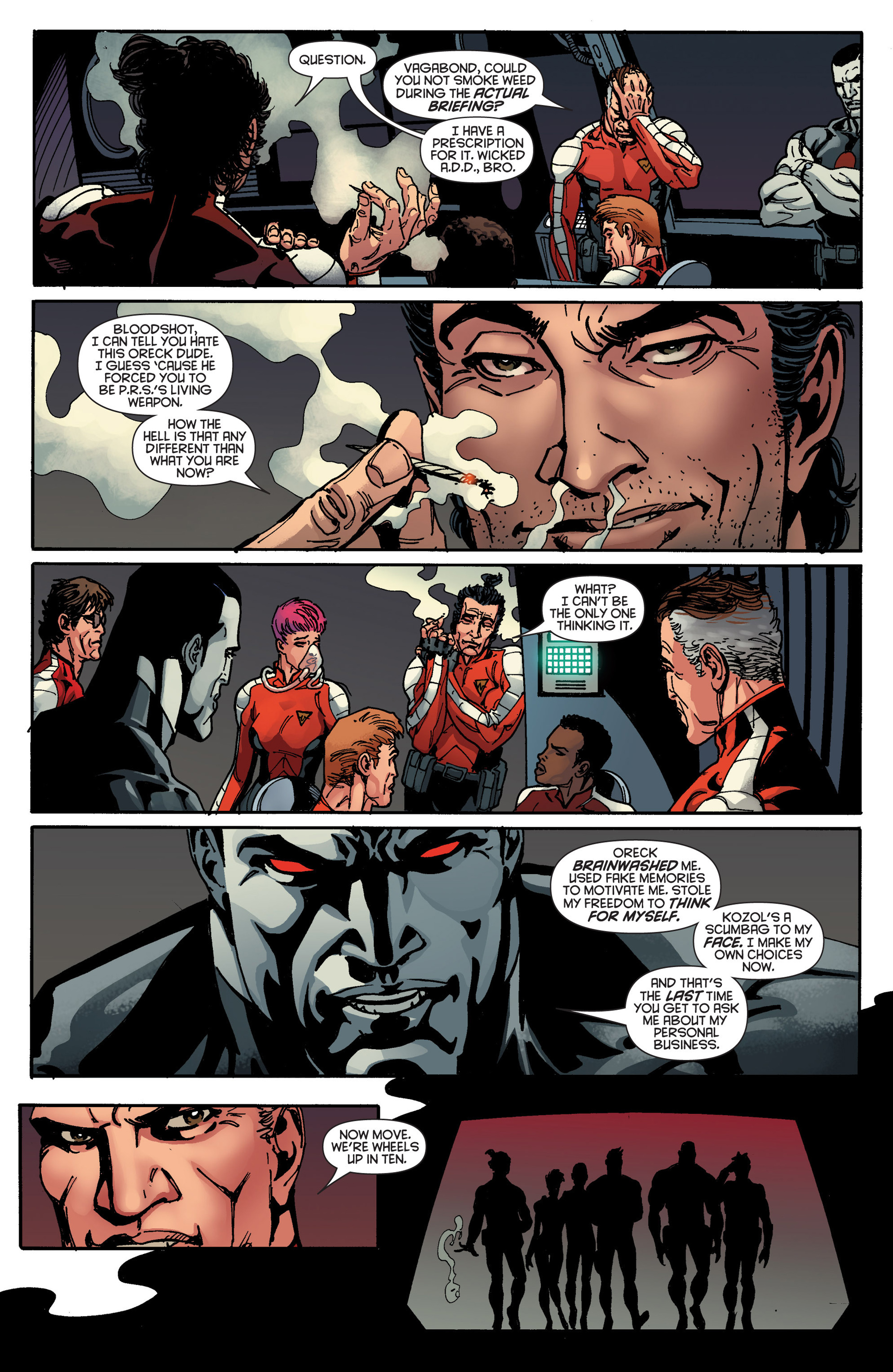 Read online Bloodshot and H.A.R.D.Corps comic -  Issue #18 - 8