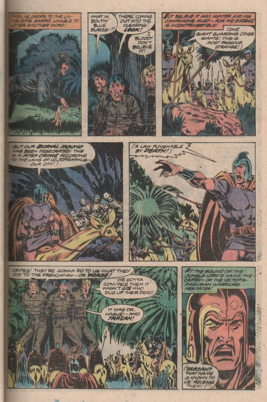 Read online Tarzan (1977) comic -  Issue # _Annual 3 - 28