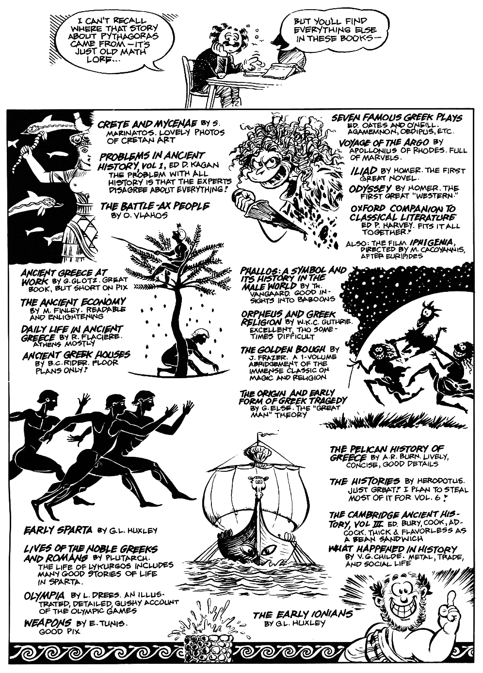Read online The Cartoon History of the Universe comic -  Issue #5 - 51