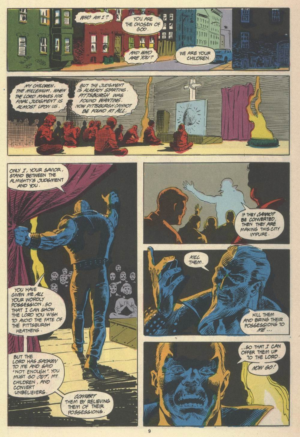Read online Justice (1986) comic -  Issue #19 - 11
