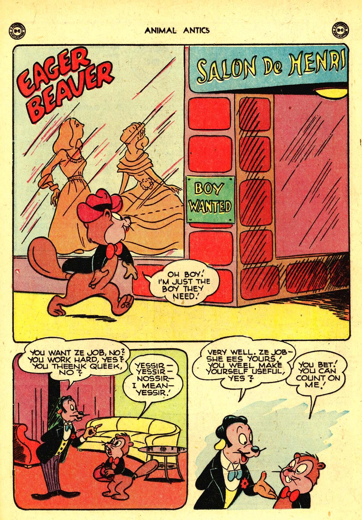 Read online Animal Antics comic -  Issue #13 - 28
