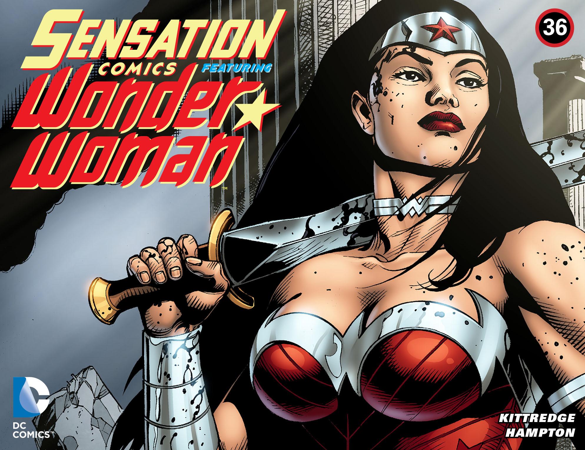 Read online Sensation Comics Featuring Wonder Woman comic -  Issue #36 - 1