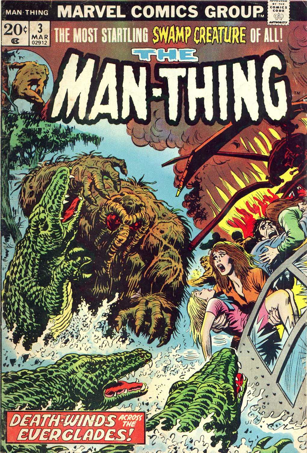 Man-Thing (1974) issue 3 - Page 1