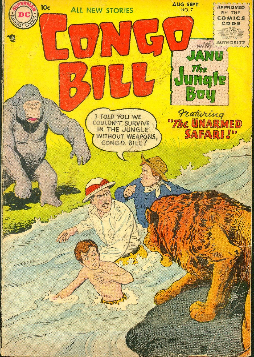 Congo Bill (1954) issue 7 - Page 1