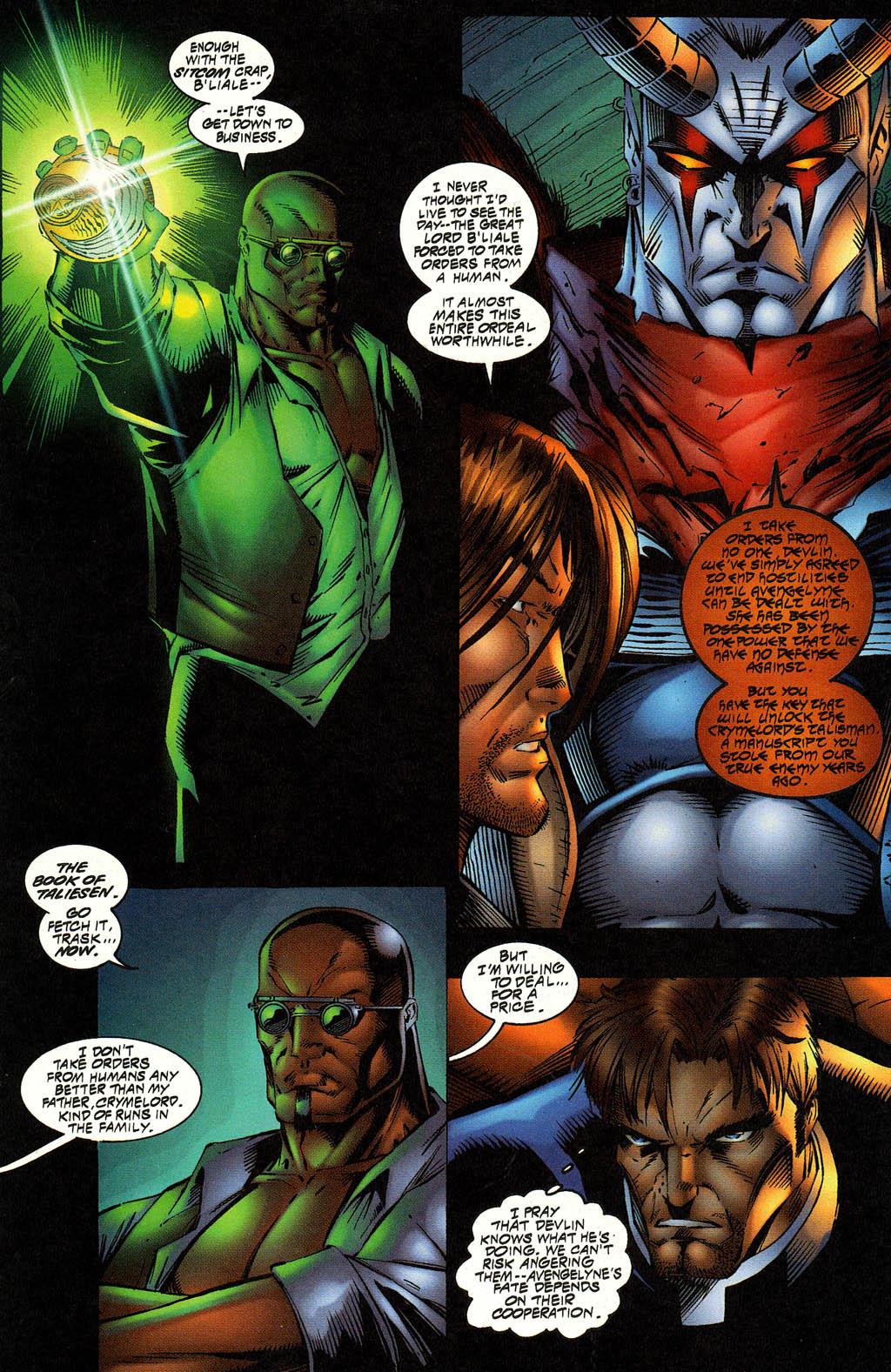 Read online Avengelyne (1996) comic -  Issue #12 - 9