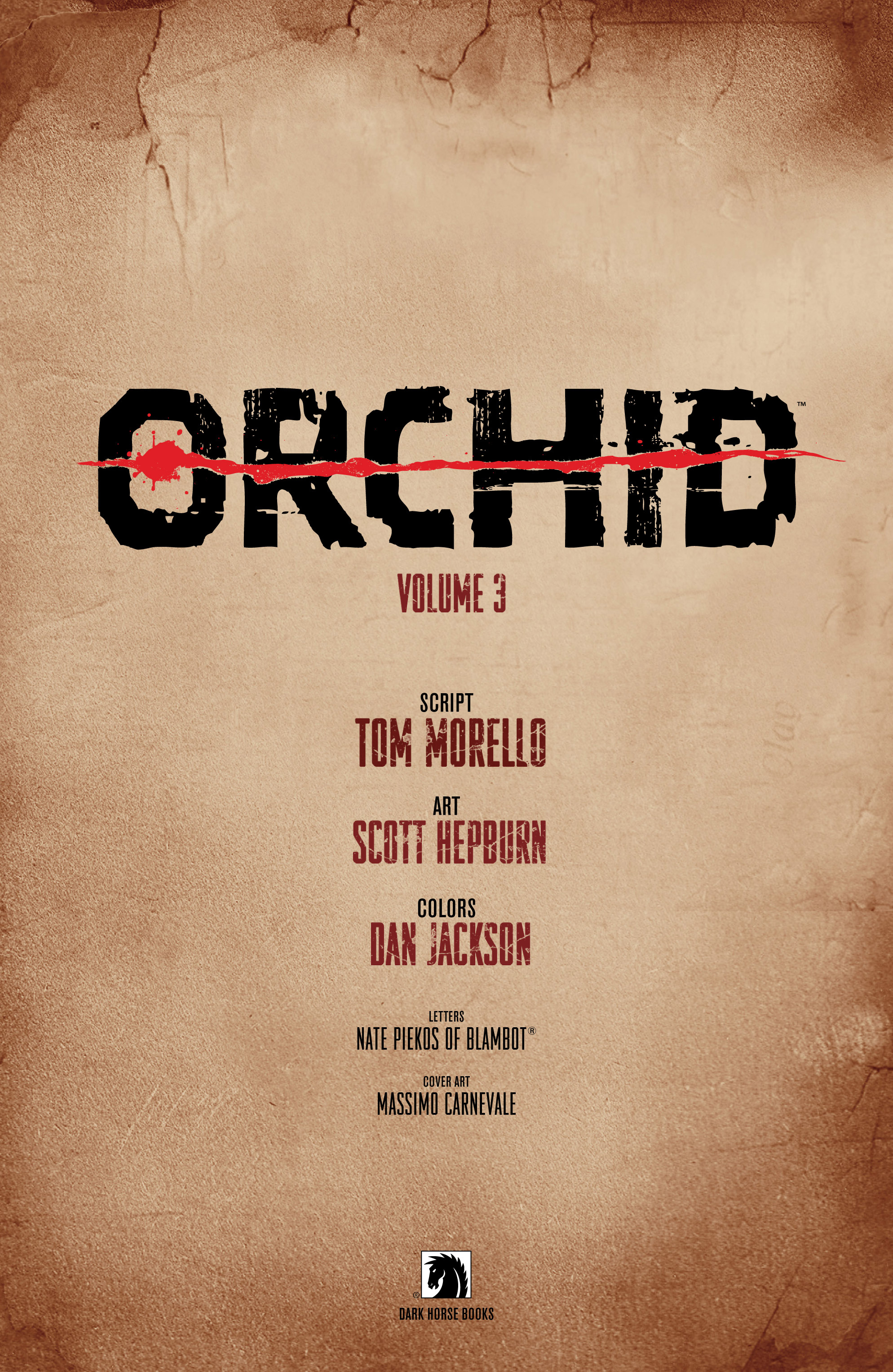 Read online Orchid comic -  Issue # TPB 3 - 3