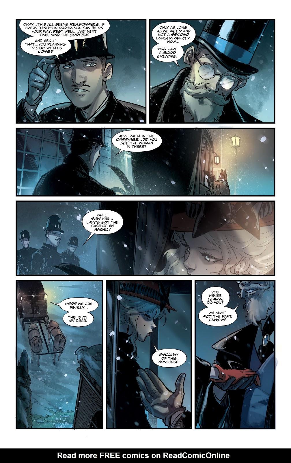 Read online Mirka Andolfo's Mercy comic -  Issue #1 - 27