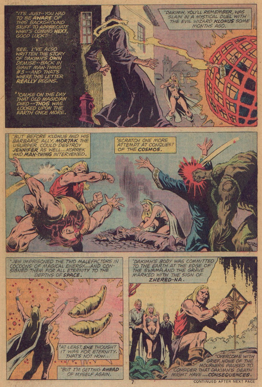 Man-Thing (1974) issue 22 - Page 6
