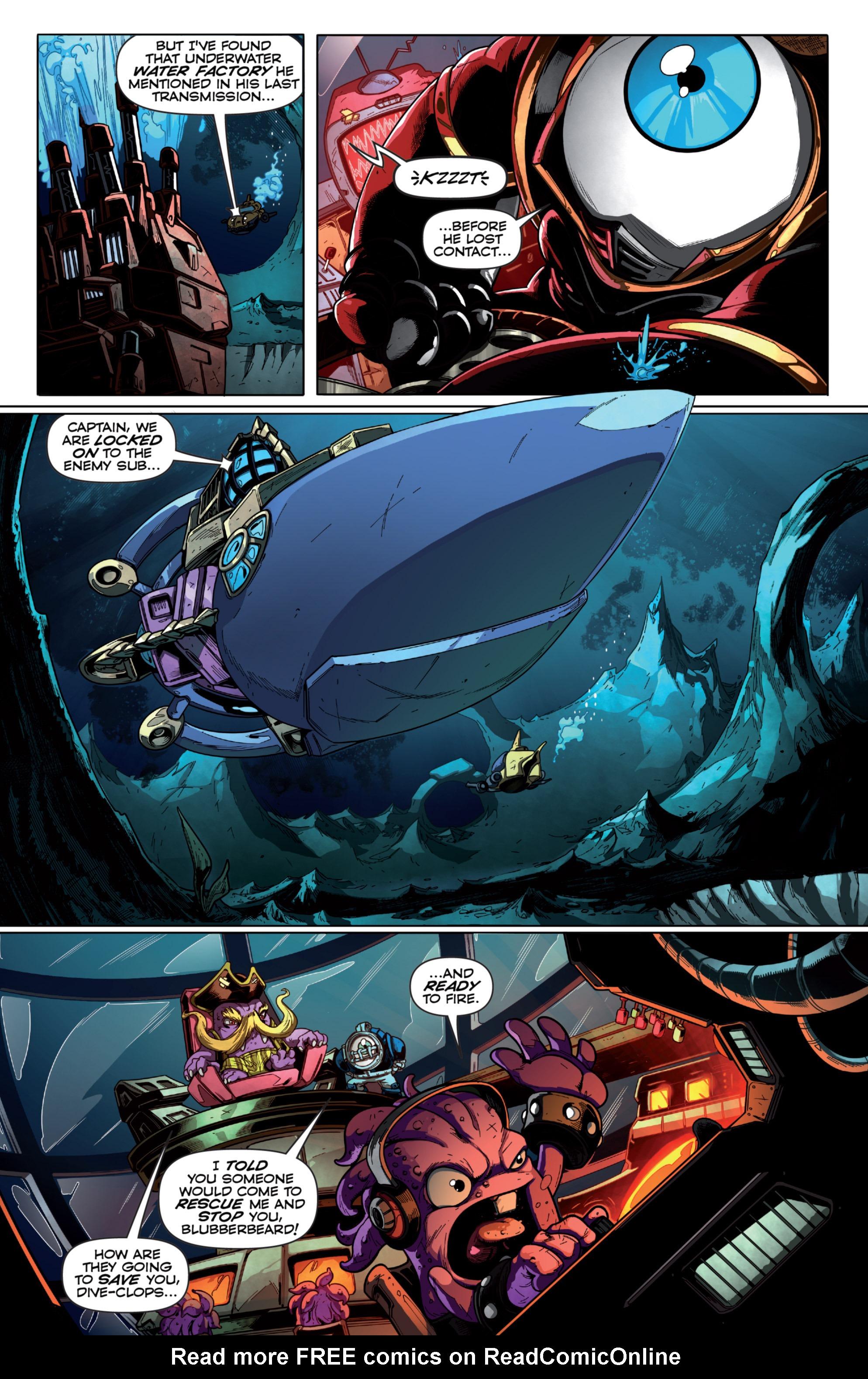 Read online Skylanders Superchargers comic -  Issue #6 - 4