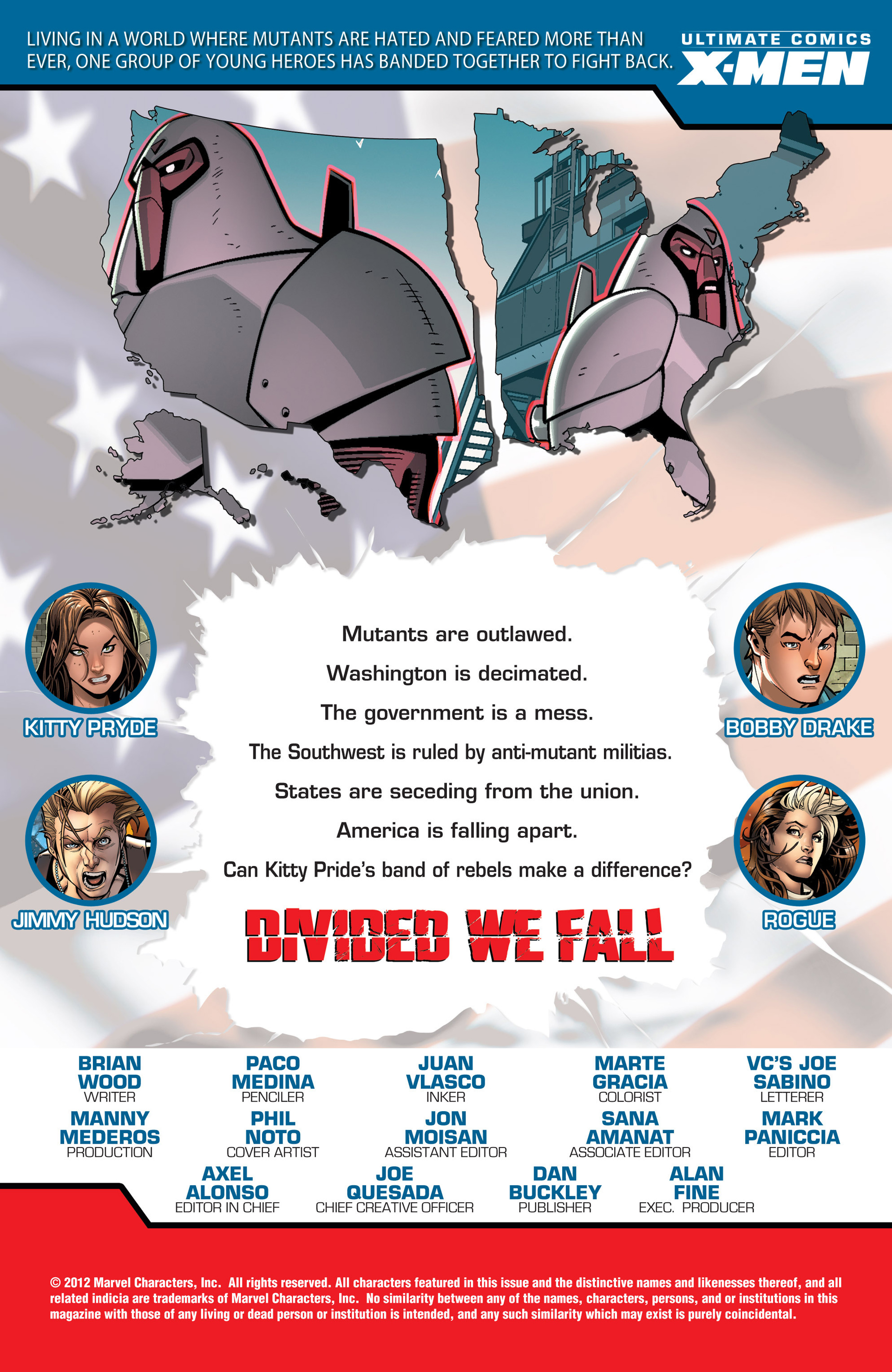 Read online Ultimate Comics X-Men comic -  Issue #15 - 2