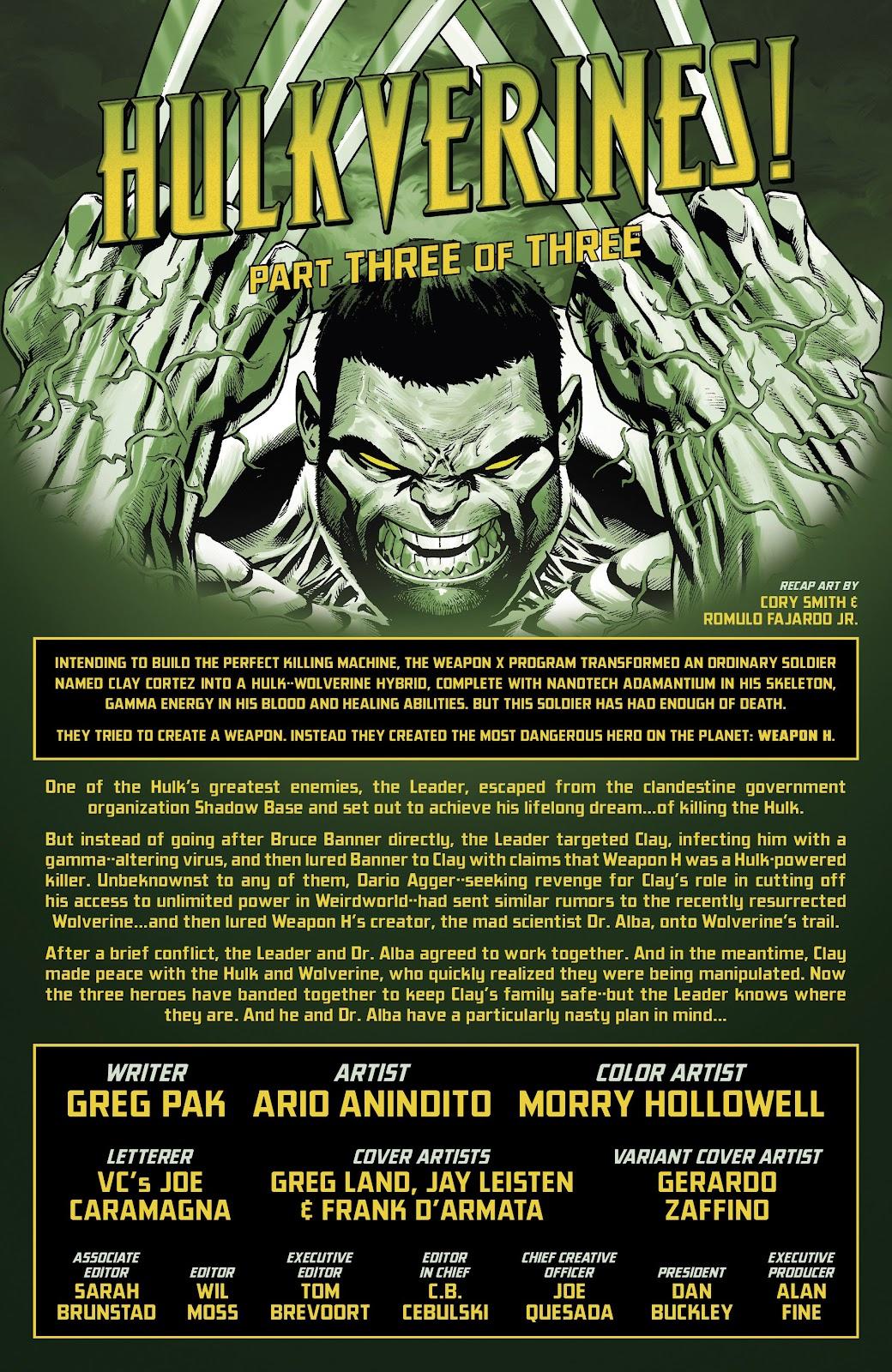 Read online Hulkverines comic -  Issue #3 - 2