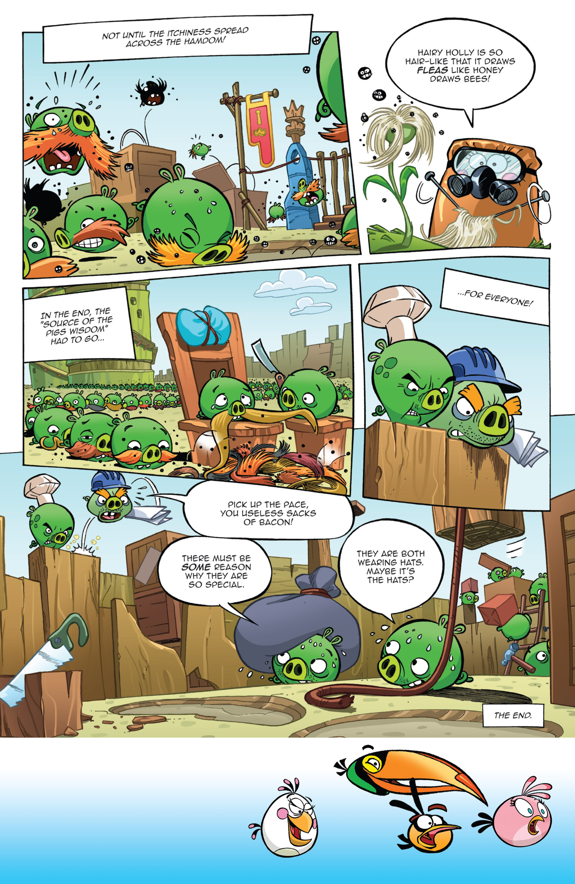 Read online Angry Birds Comics (2014) comic -  Issue #11 - 14